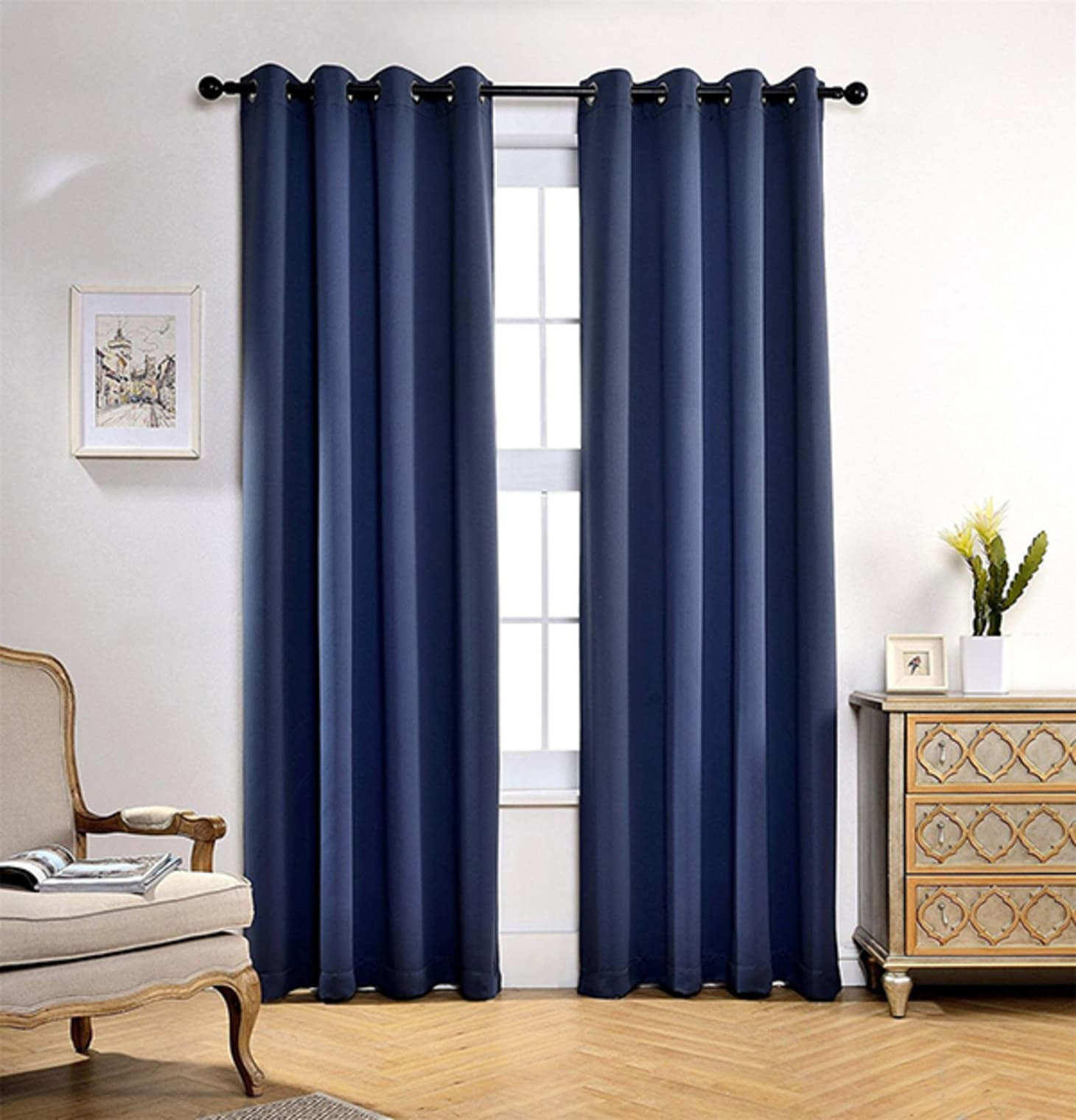Best Insulated Blackout Curtains | Apartment Therapy Intended For Grommet Top Thermal Insulated Blackout Curtain Panel Pairs (View 19 of 20)