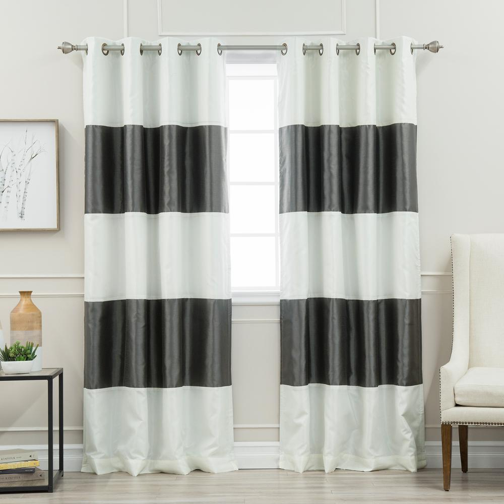 Best Place To Buy Curtains And Drapes | New House Designs Pertaining To Star Punch Tulle Overlay Blackout Curtain Panel Pairs (View 21 of 30)