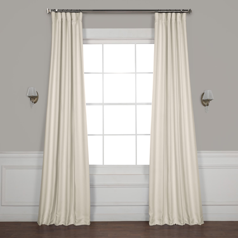 Birch Faux Linen Blackout Curtain For Faux Linen Extra Wide Blackout Curtains (View 11 of 20)