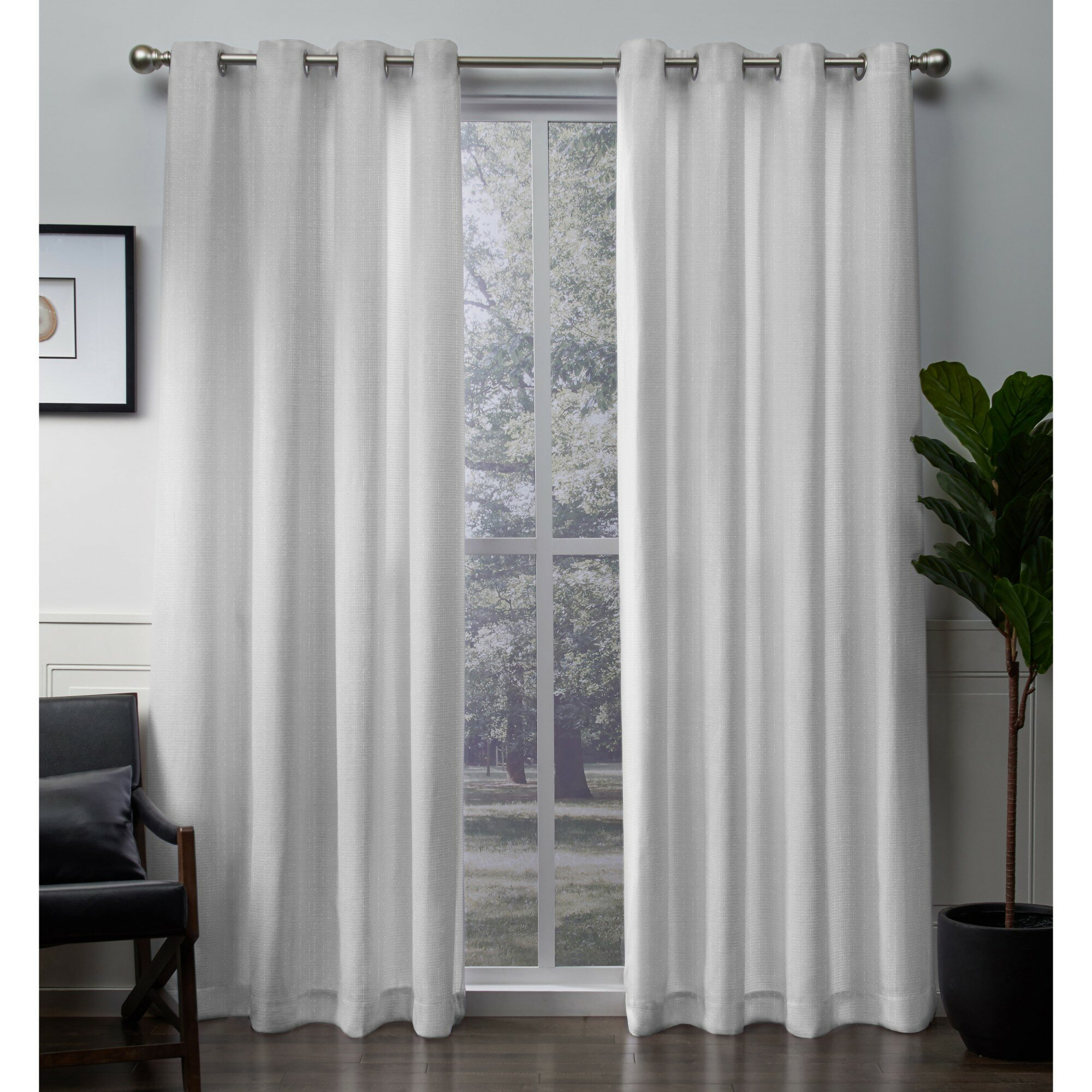 Blackledge Solid Room Darkening Grommet Panel Pair Throughout Raw Silk Thermal Insulated Grommet Top Curtain Panel Pairs (View 16 of 20)