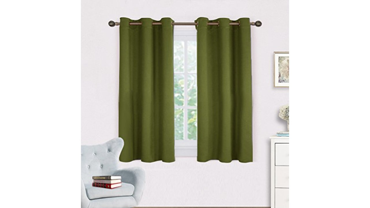 Blackout Draperies Window Curtain Panels – Nicetown Autumn Throughout Solid Thermal Insulated Blackout Curtain Panel Pairs (View 19 of 30)