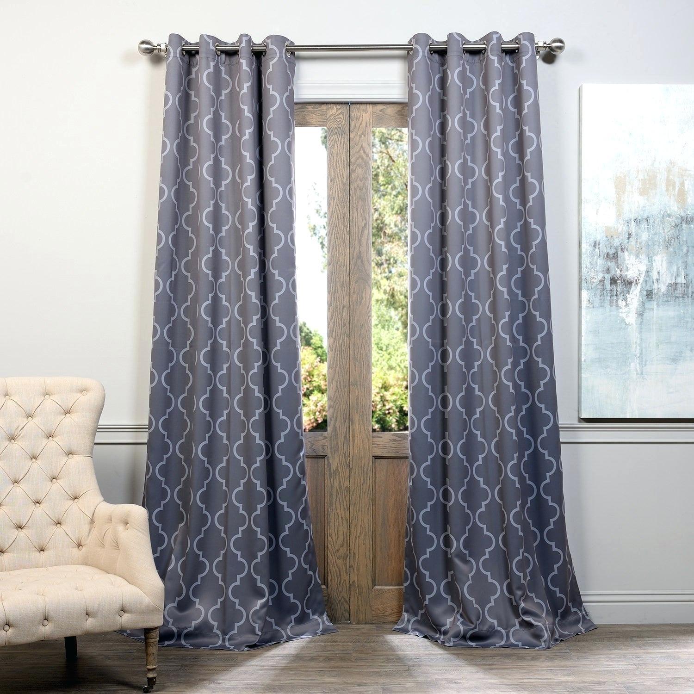 Blackout Grommet Curtains – Marsam (View 10 of 30)