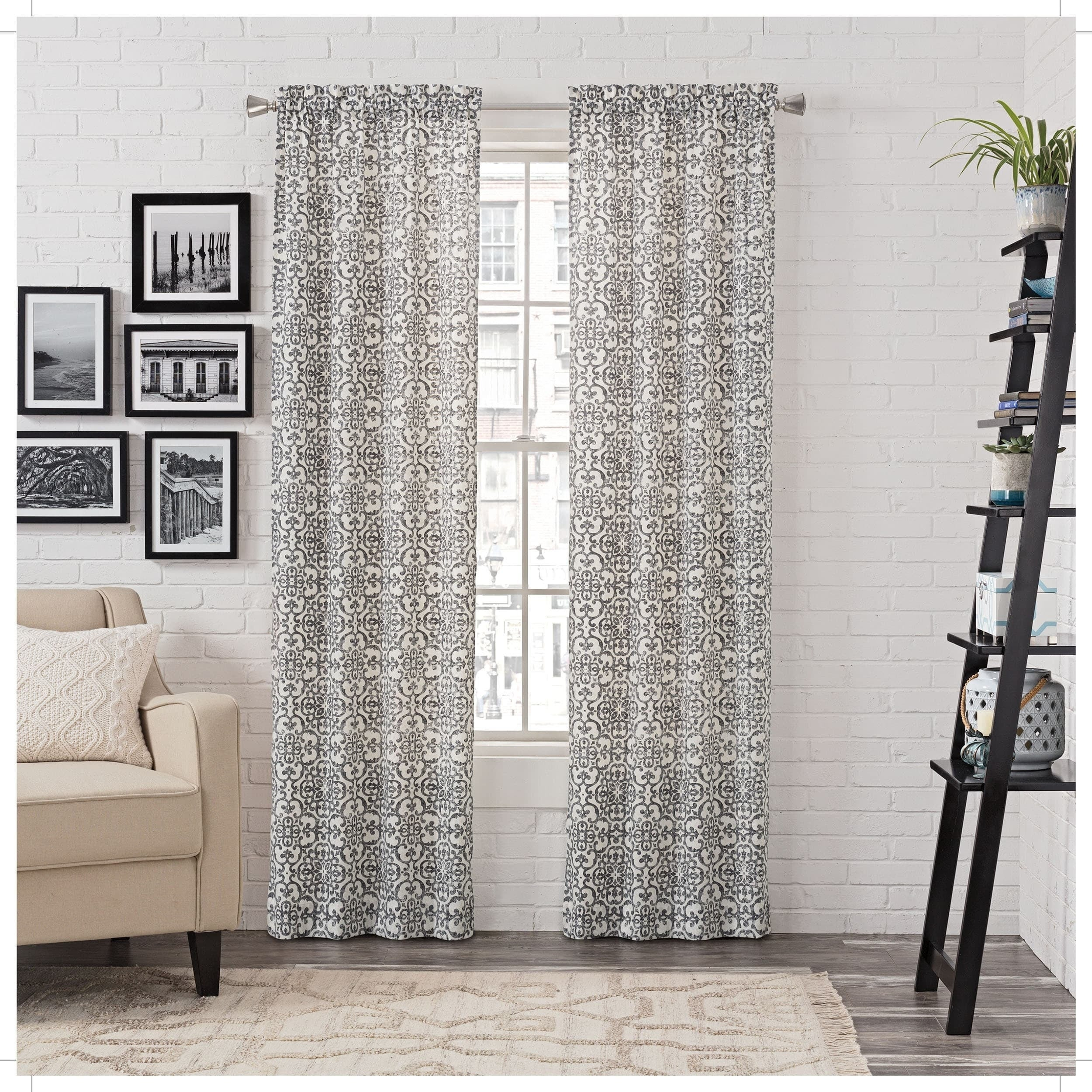 Buy Gracewood Hollow Curtains & Drapes Online At Overstock Intended For Gracewood Hollow Tucakovic Energy Efficient Fabric Blackout Curtains (View 5 of 20)