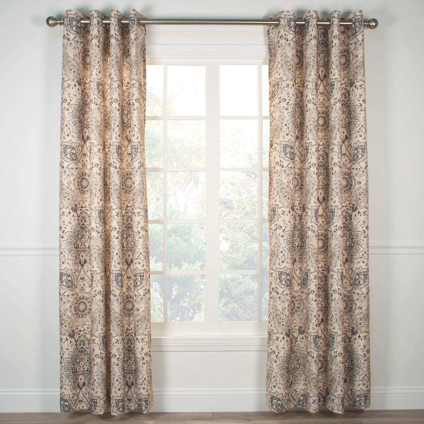 Cadogen Grommet Top Curtain Panel for Grommet Curtain Panels (Image 7 of 20)