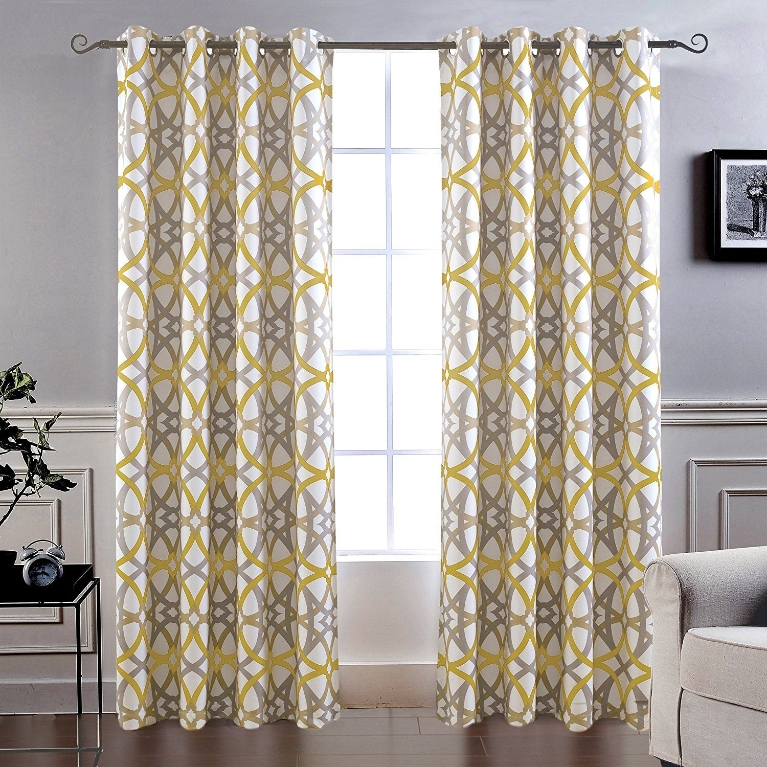 Carson Carrington Jarvenpaa Insulated Blackout Grommet Window Curtain Panel Pair With Regard To Insulated Blackout Grommet Window Curtain Panel Pairs (View 8 of 20)