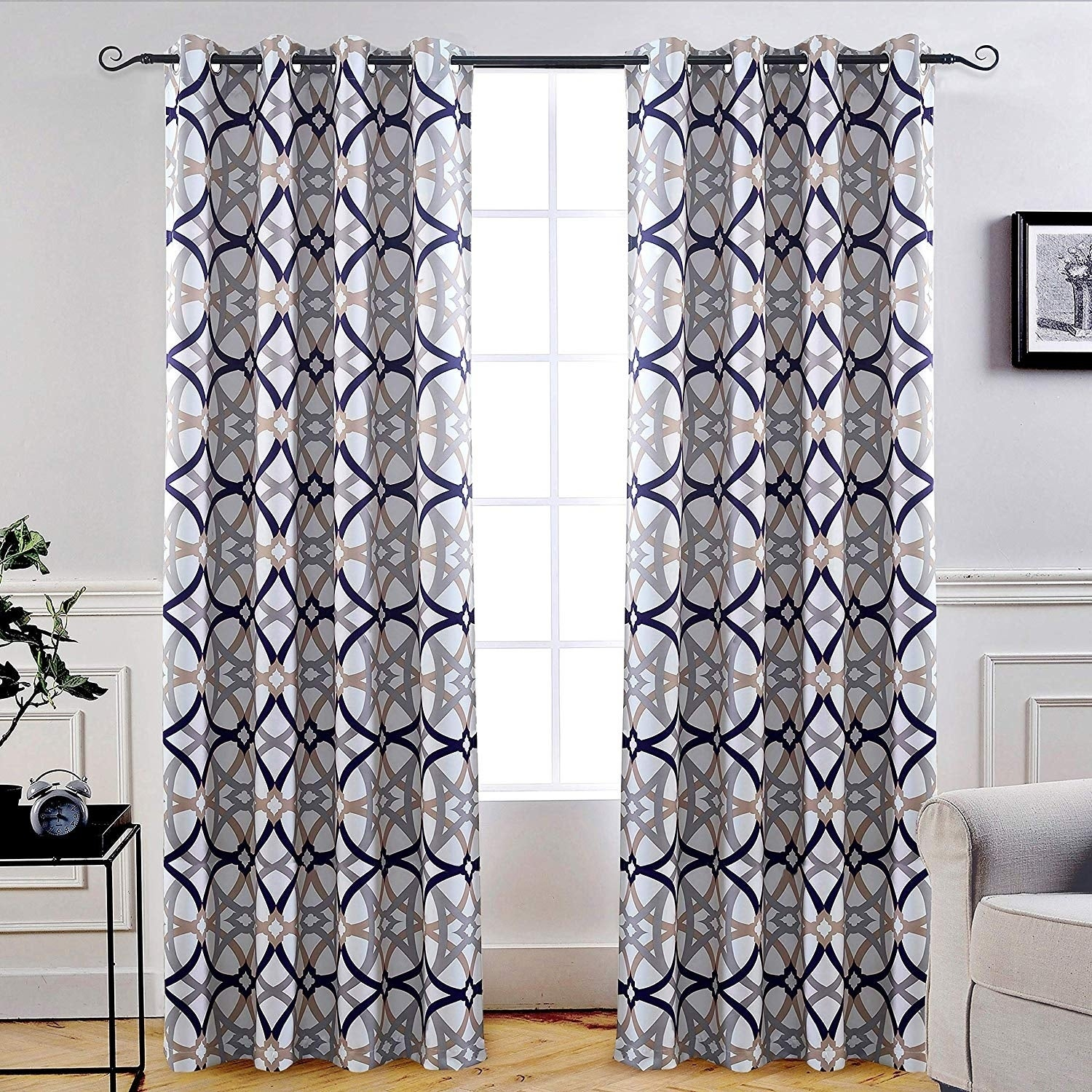 Carson Carrington Jarvenpaa Insulated Blackout Grommet Window Curtain Panel Pair With Regard To Insulated Blackout Grommet Window Curtain Panel Pairs (View 7 of 20)