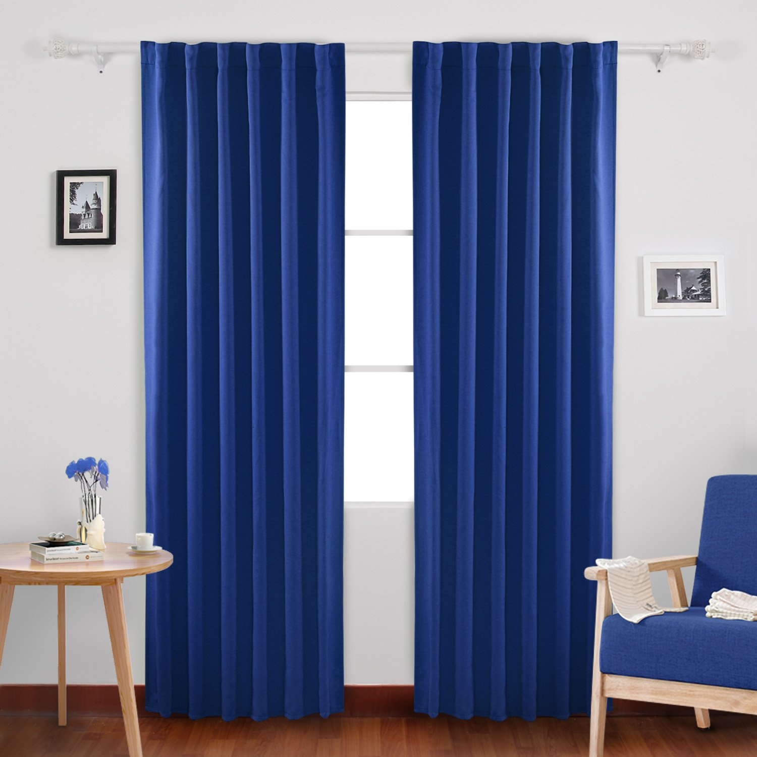 Cheap Blackout Curtains 84, Find Blackout Curtains 84 Deals Within Solid Insulated Thermal Blackout Curtain Panel Pairs (View 24 of 30)