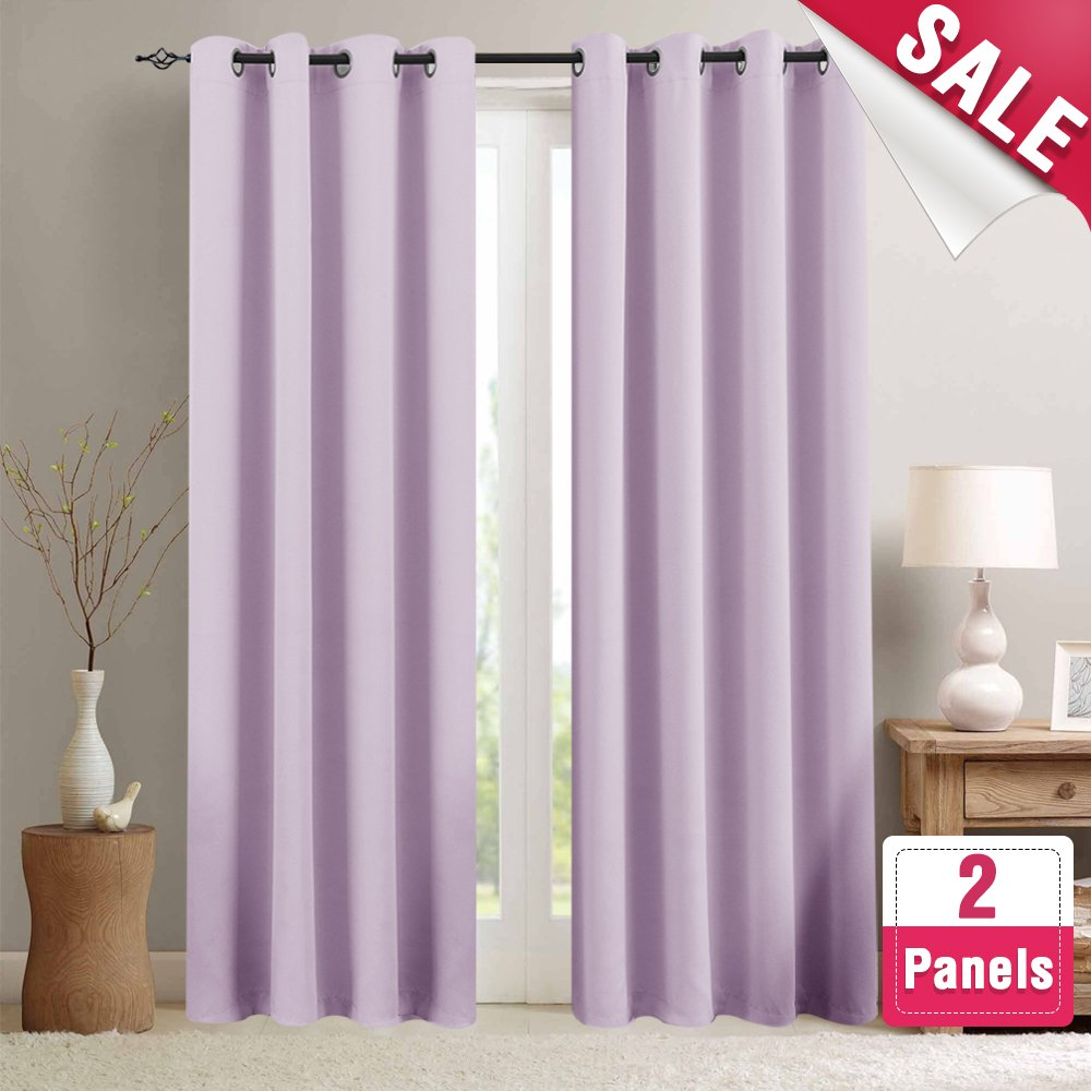 Cheap Blackout Curtains 95, Find Blackout Curtains 95 Deals Pertaining To Thermal Woven Blackout Grommet Top Curtain Panel Pairs (View 23 of 30)