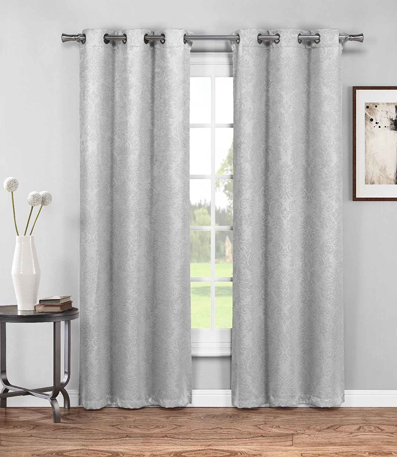 Cheap Embossed Curtain Fabric Blackout, Find Embossed Within Embossed Thermal Weaved Blackout Grommet Drapery Curtains (View 13 of 20)