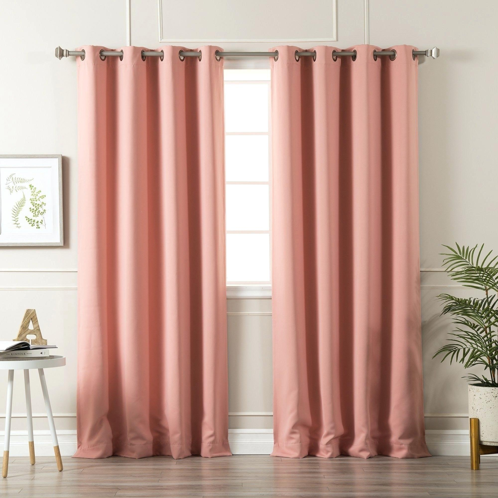 Cheap Grommet Blackout Curtains – Bluehorizonsinc Throughout Insulated Blackout Grommet Window Curtain Panel Pairs (View 9 of 20)
