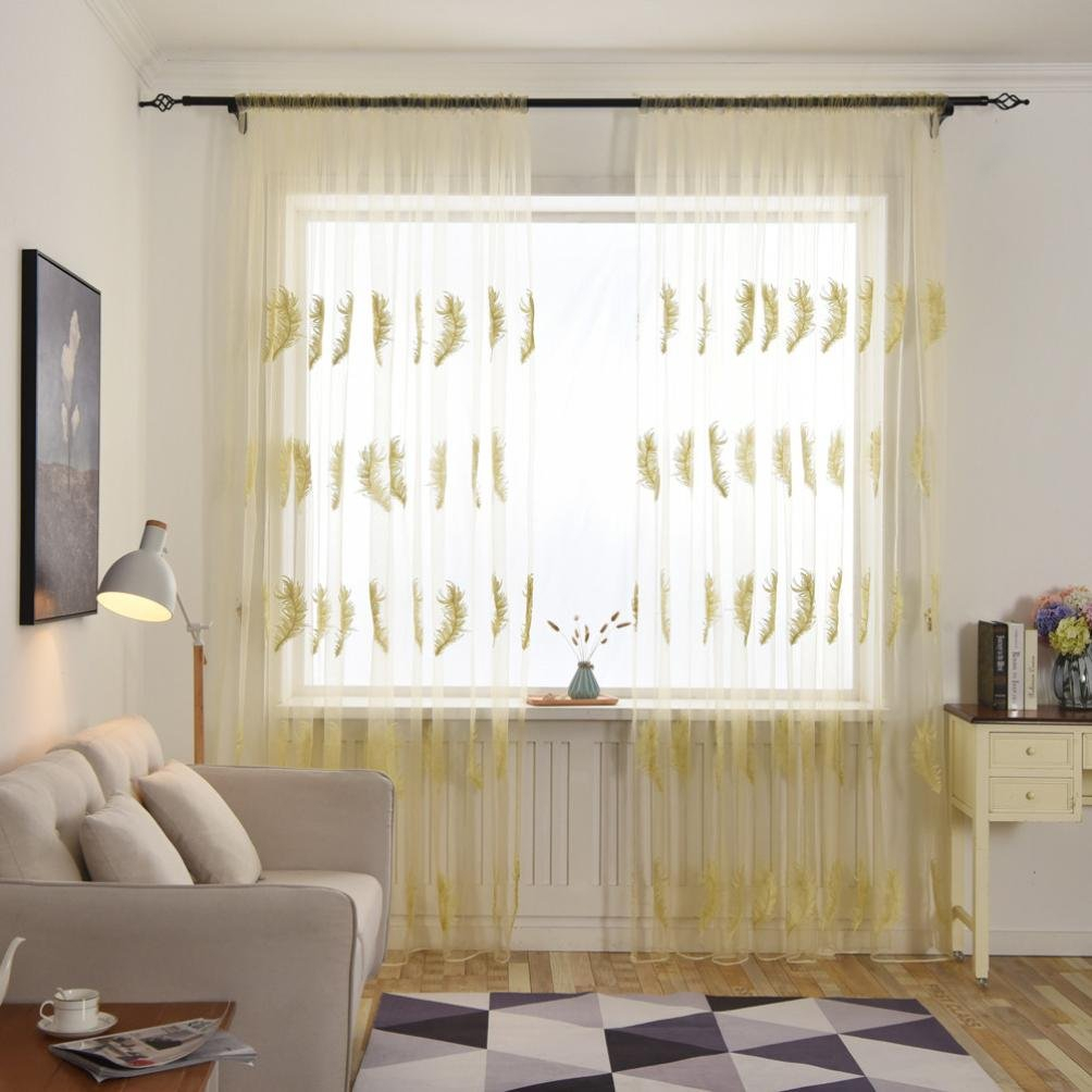 Cheap Lace Kitchen Curtains Valances, Find Lace Kitchen Intended For Tulle Sheer With Attached Valance And Blackout 4 Piece Curtain Panel Pairs (View 22 of 30)
