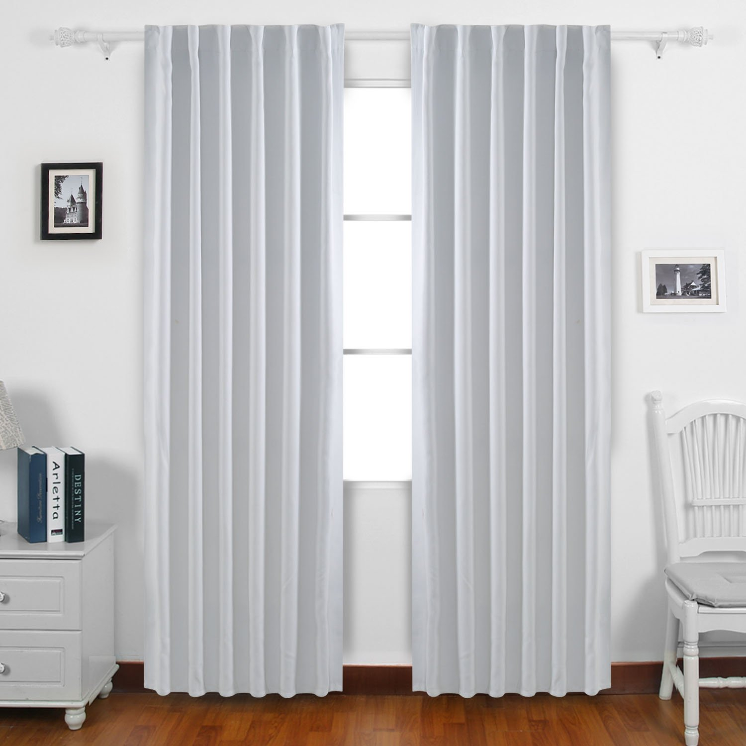 Cheap White Rod Pocket Curtains, Find White Rod Pocket Pertaining To Hayden Rod Pocket Blackout Panels (View 20 of 20)