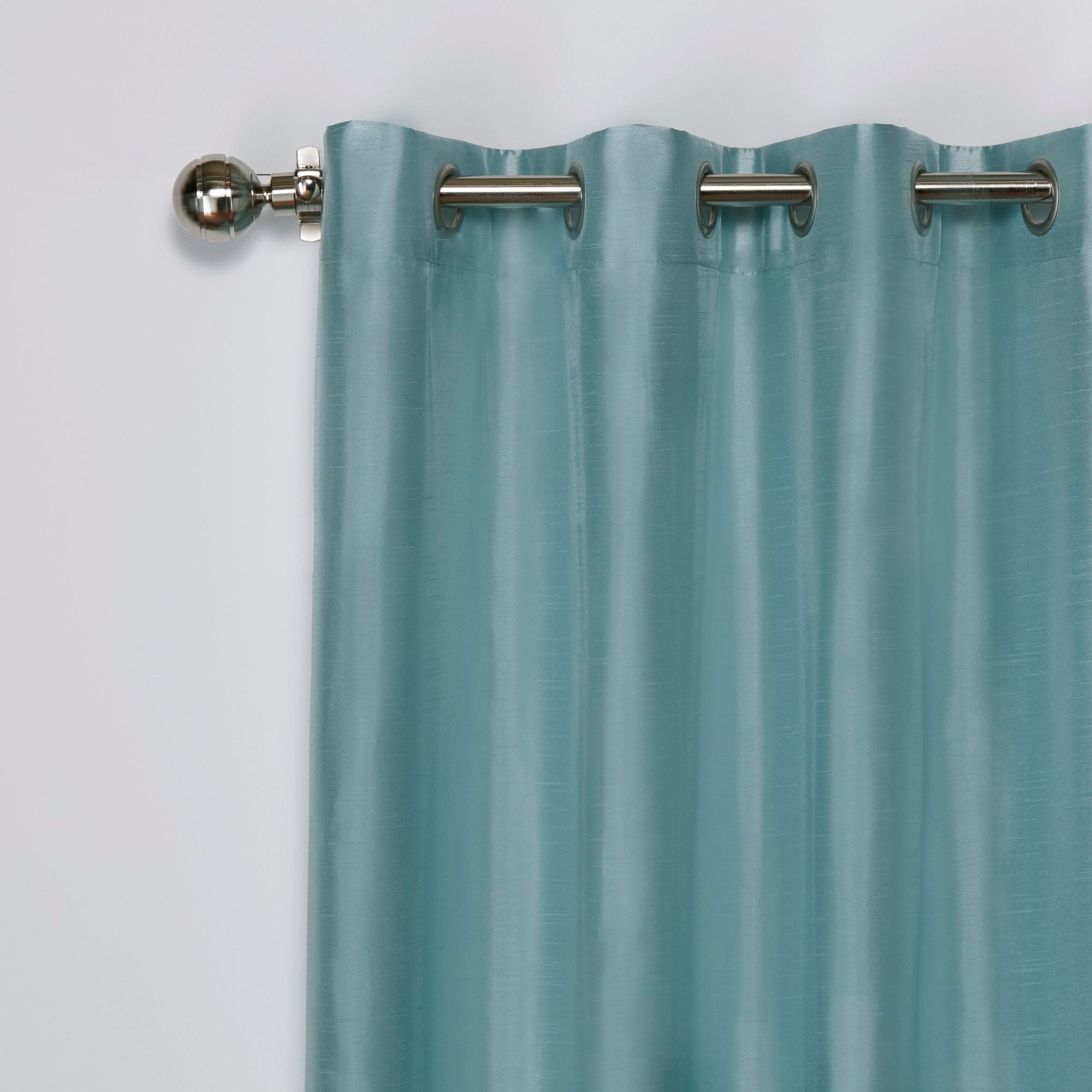 Copper Grove Fulgence Faux Silk Grommet Top Panel Curtains – N/ A With Copper Grove Fulgence Faux Silk Grommet Top Panel Curtains (View 15 of 20)