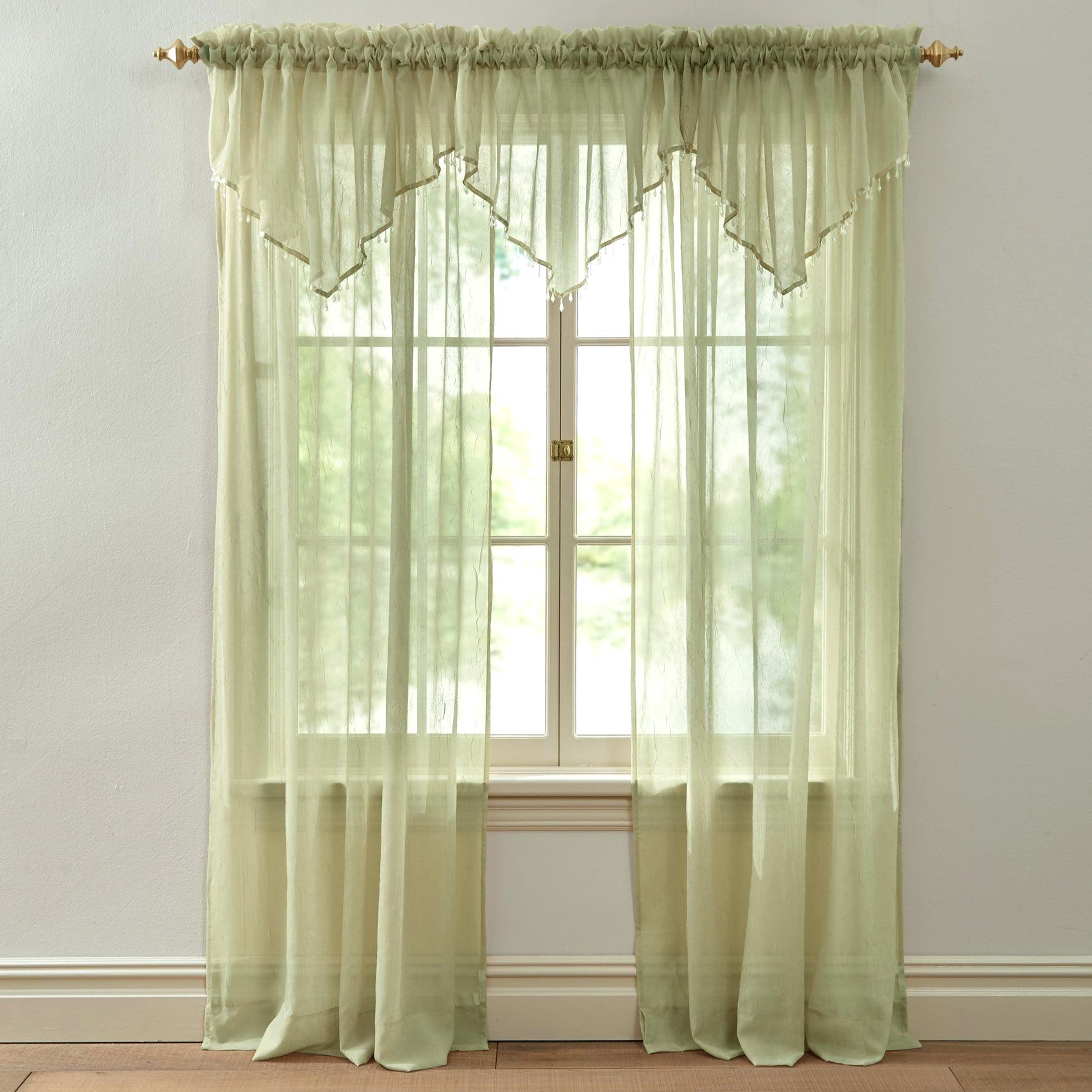 Crushed Voile Curtains Regarding Erica Sheer Crushed Voile Single Curtain Panels (View 17 of 20)