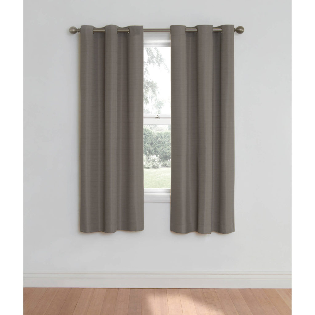 Curtain ~ 34edf0c3d0a4 1 Walmart Blackoutins Mainstays Room For Silvertone Grommet Thermal Insulated Blackout Curtain Panel Pairs (View 16 of 30)
