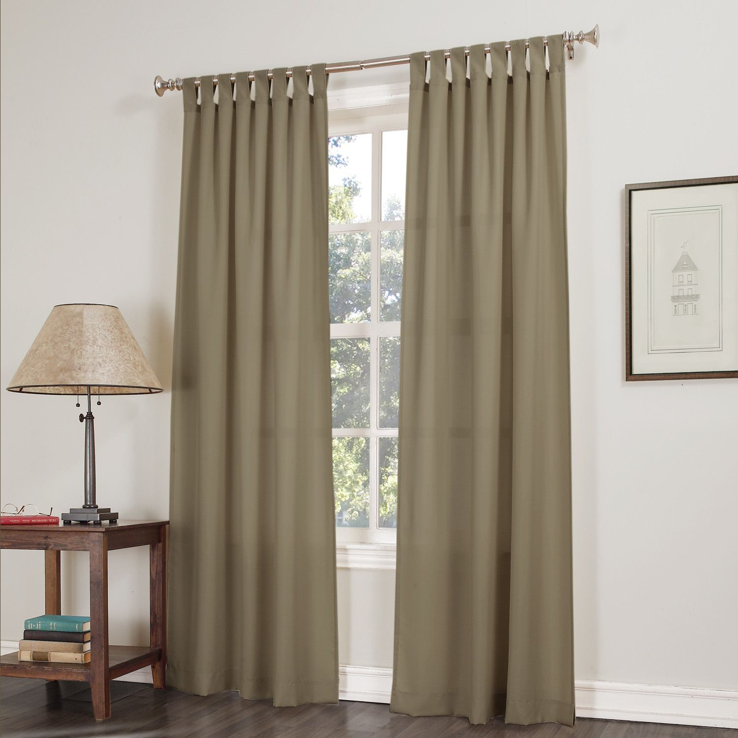 Curtains & Drapes Regarding Sugar Creek Grommet Top Loha Linen Window Curtain Panel Pairs (View 18 of 30)