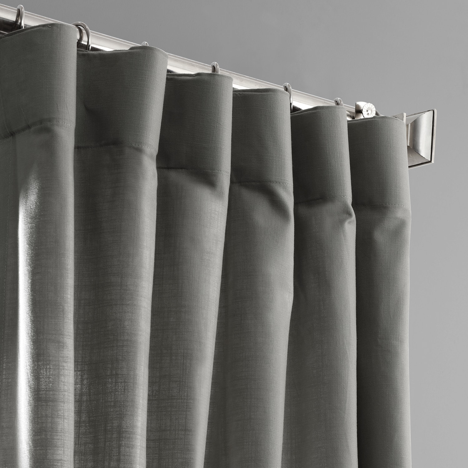 Details About Country Cotton Linen Weave Curtains (Sold Per Panel) Intended For Solid Country Cotton Linen Weave Curtain Panels (View 3 of 30)