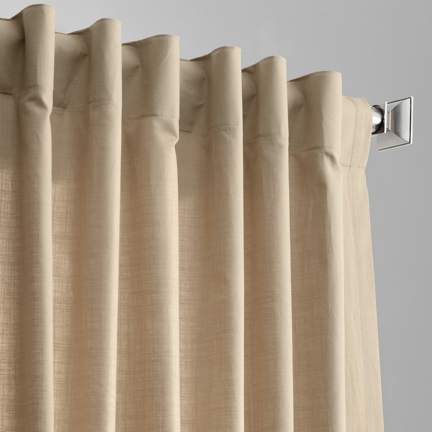 Details About Country Cotton Linen Weave Curtains (sold Per Panel) Throughout Solid Country Cotton Linen Weave Curtain Panels (View 14 of 30)
