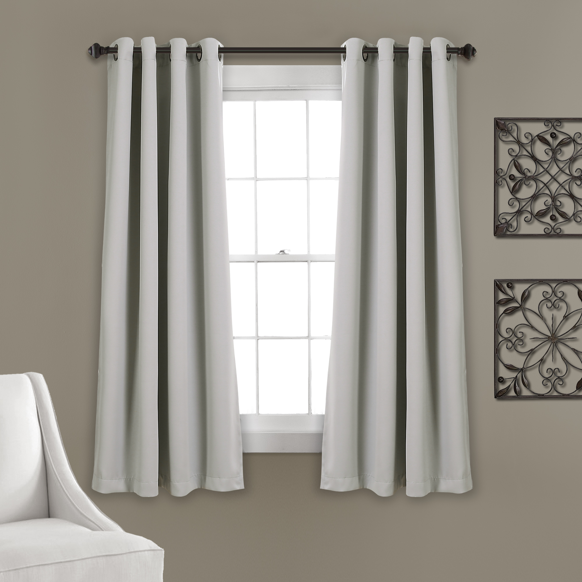 Details About Lush Dcor Insulated Grommet Blackout Curtain Panels Pink Pair Set 52X63 For Insulated Grommet Blackout Curtain Panel Pairs (View 7 of 20)
