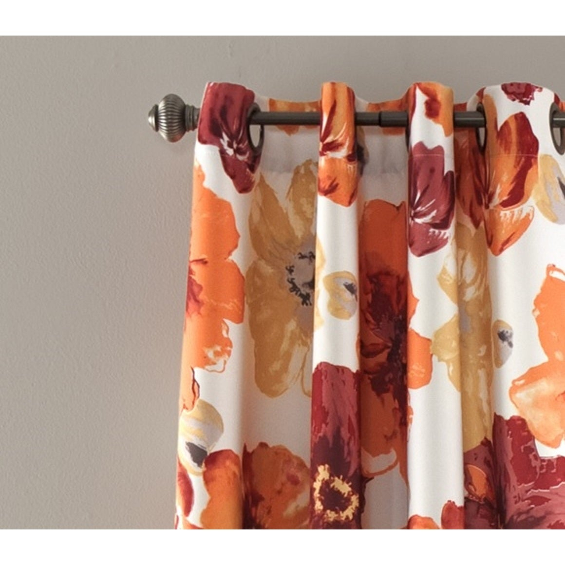 Details About Lush Decor Leah Room Darkening Curtain Panel Pair For Leah Room Darkening Curtain Panel Pairs (View 12 of 20)