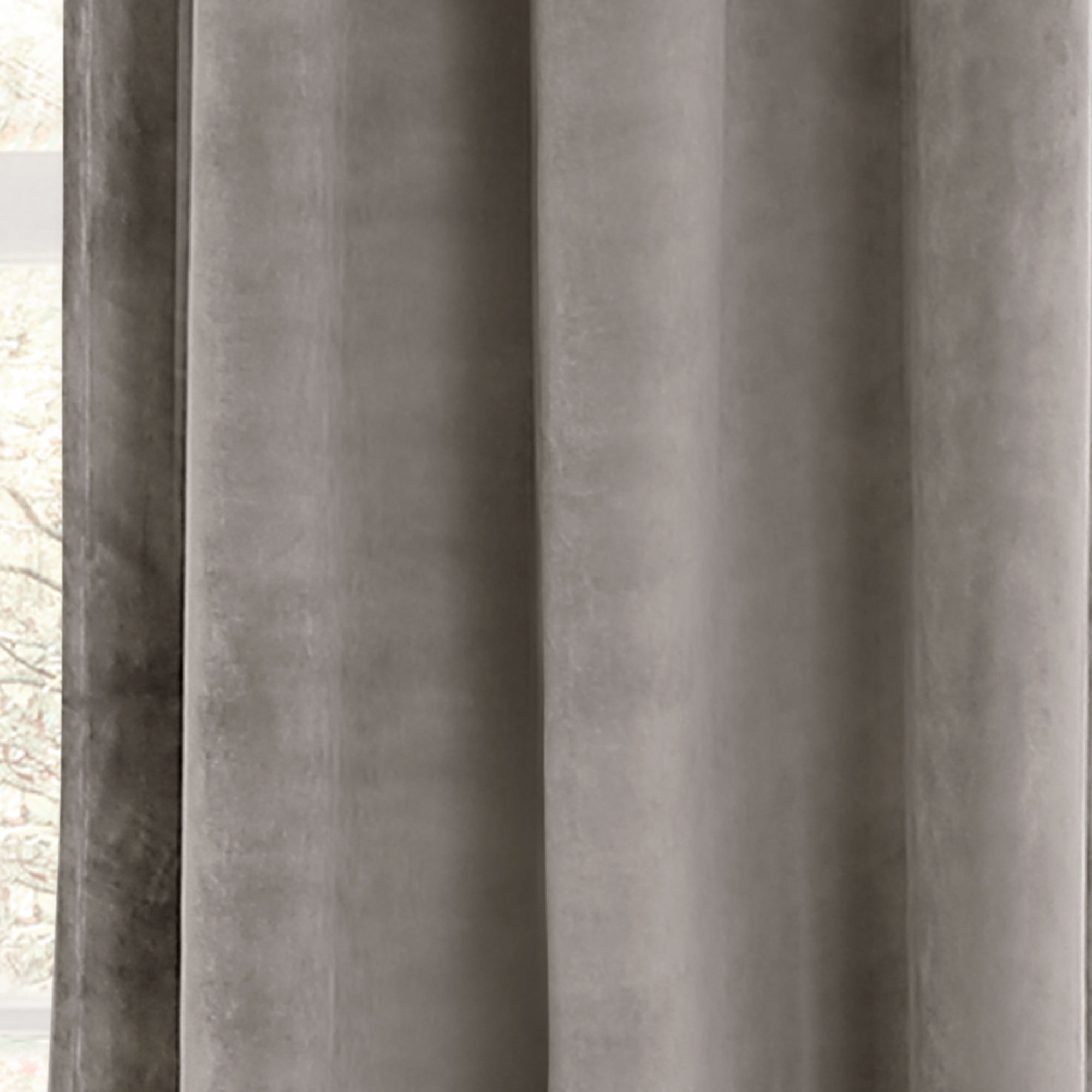 Details About Prima Velvet Solid Room Darkening Window Curtain Plum Set 38x84 With Regard To Velvet Solid Room Darkening Window Curtain Panel Sets (View 12 of 30)