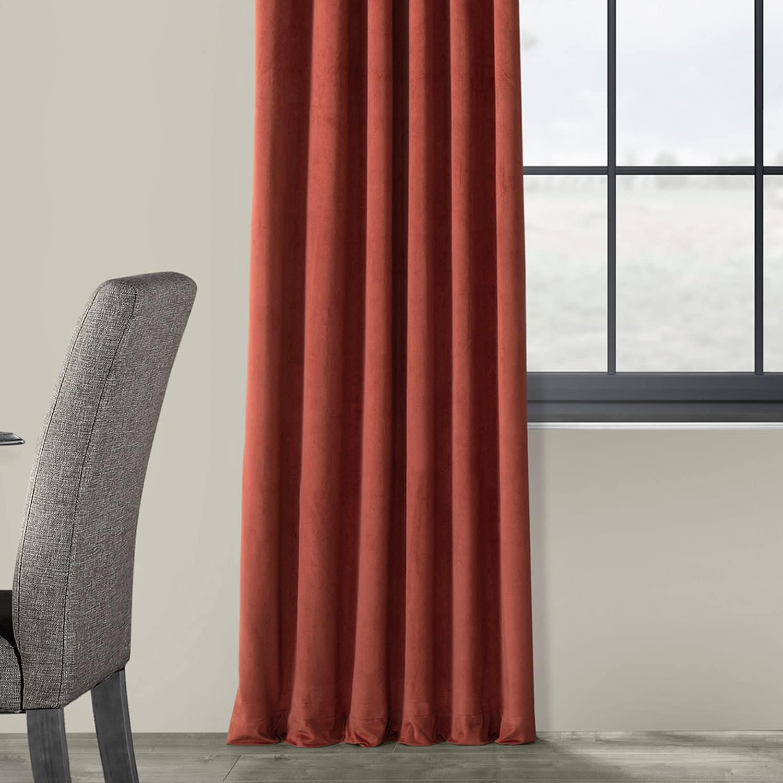 Details About Signature Blackout Velvet Curtains (Sold Per Panel) Inside Signature Blackout Velvet Curtains (View 4 of 20)