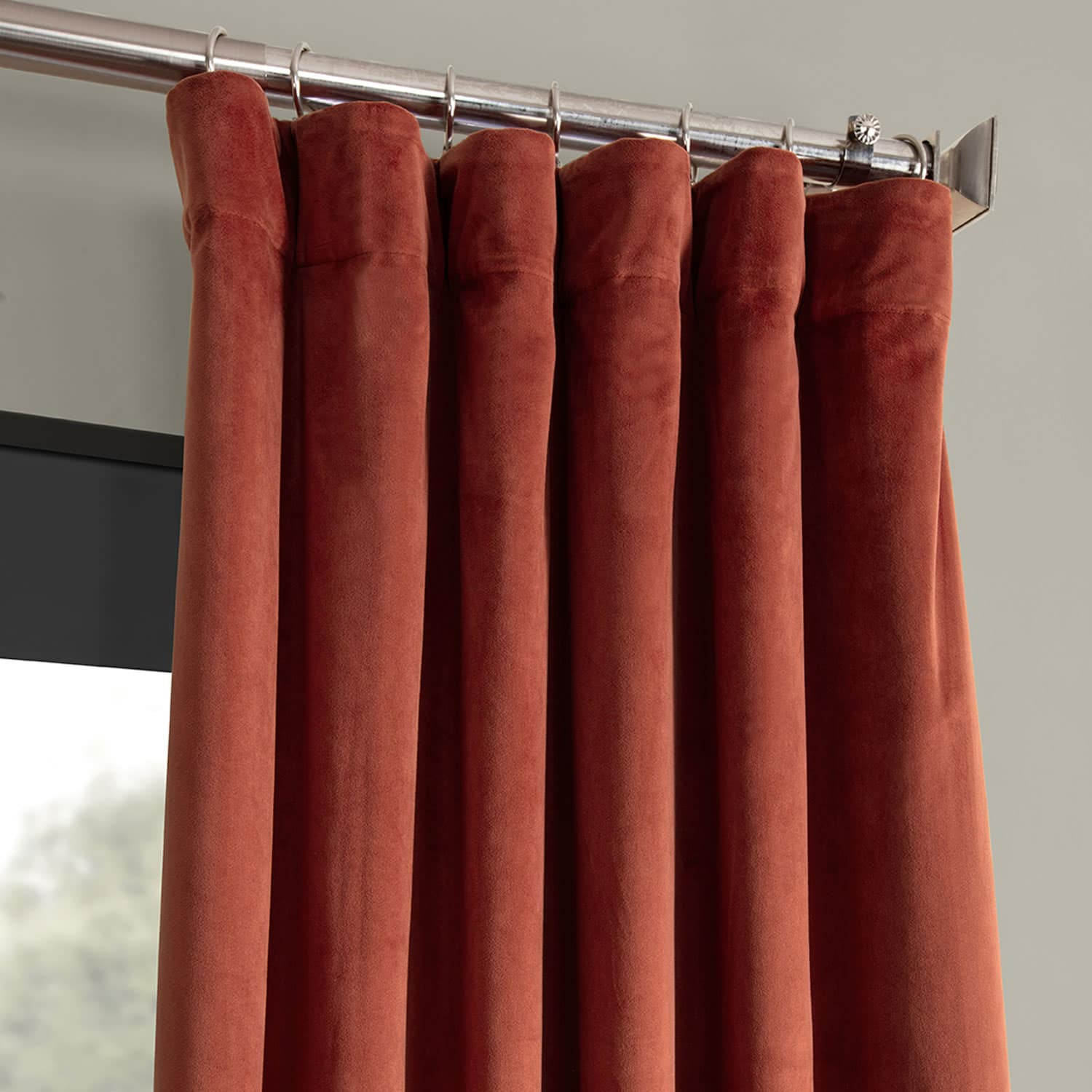 Details About Signature Blackout Velvet Curtains (sold Per Panel) Inside Signature Blackout Velvet Curtains (View 7 of 20)