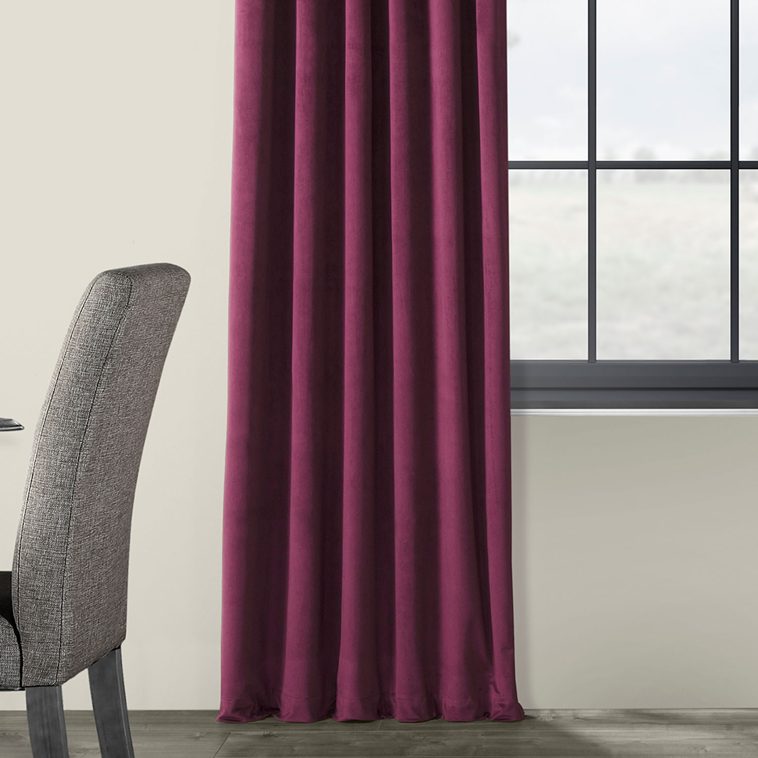 Details About Signature Blackout Velvet Curtains (sold Per Panel) With Regard To Signature Blackout Velvet Curtains (View 19 of 20)