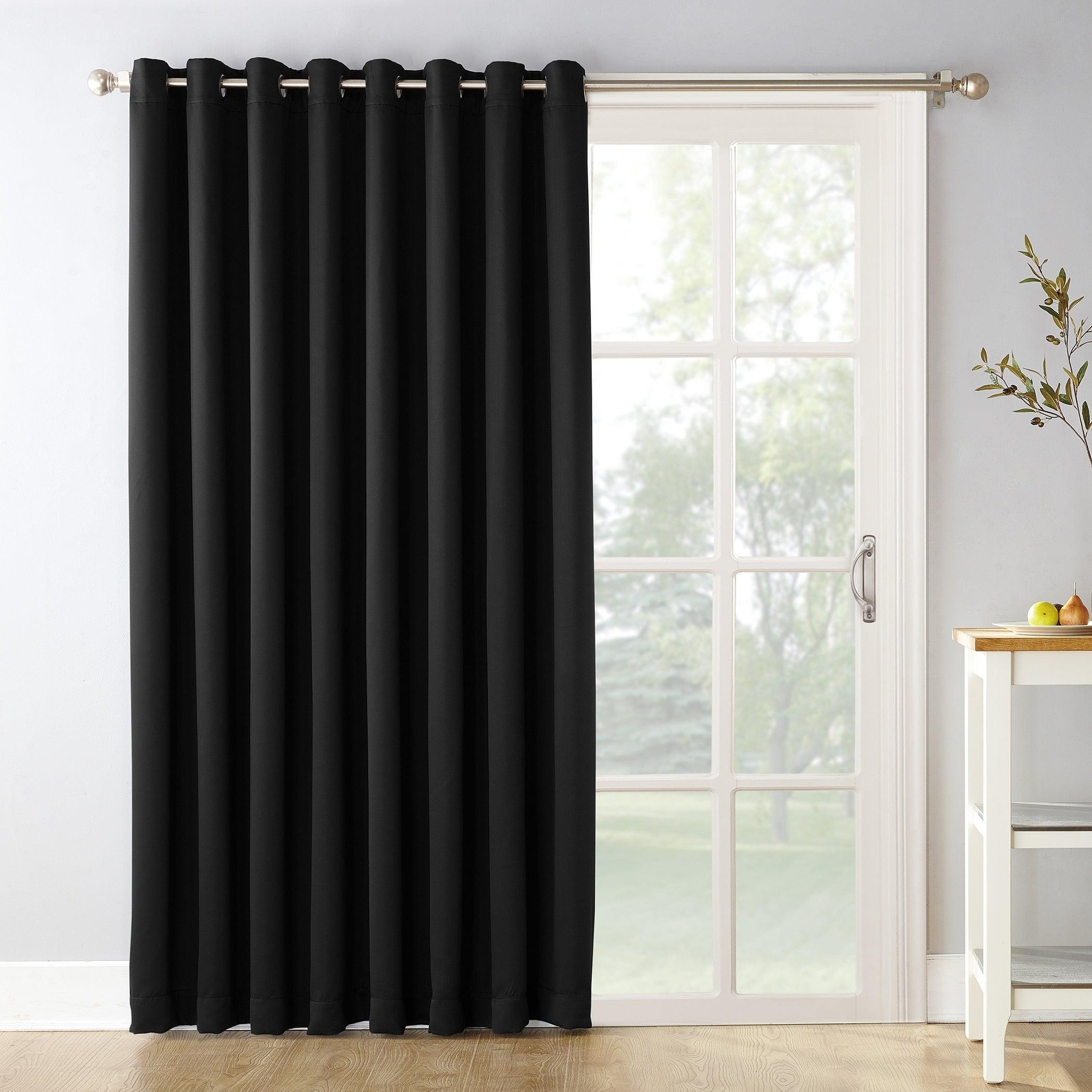 Details About Sun Zero Hayden Grommet Blackout Patio Door Window Curtain Intended For Hayden Grommet Blackout Single Curtain Panels (View 13 of 20)
