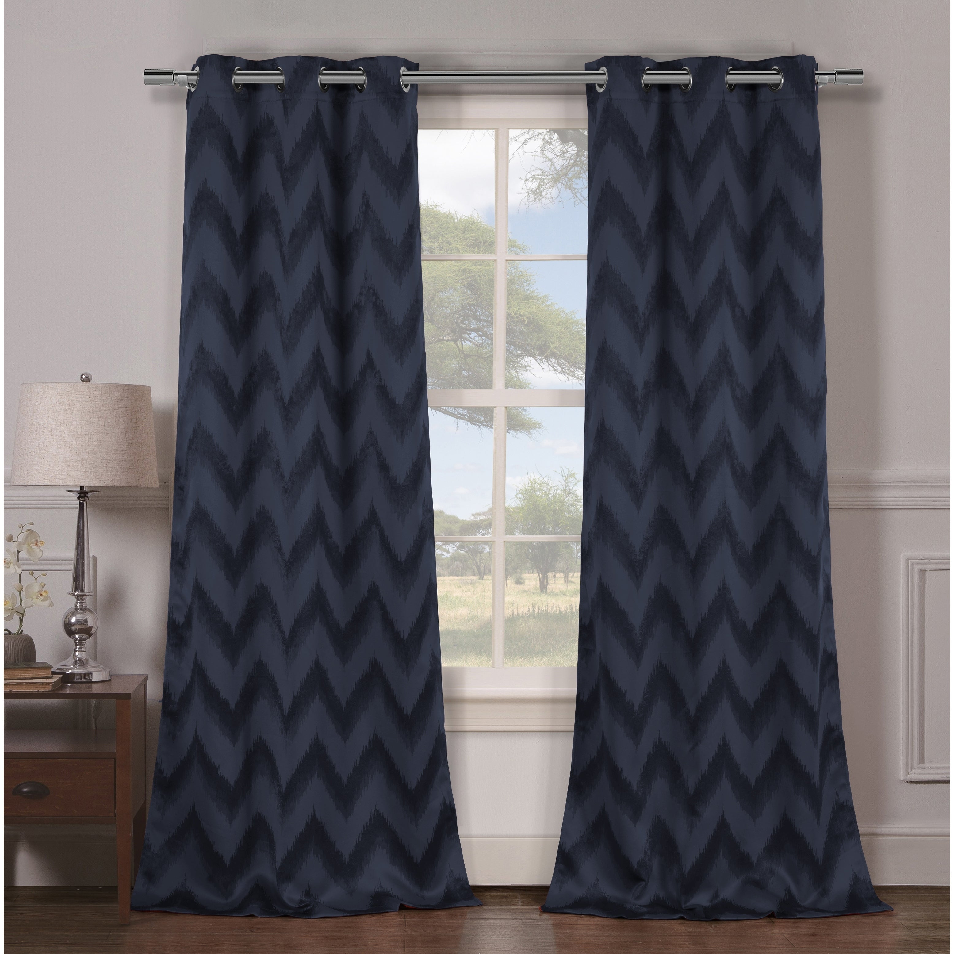 Detalles Acerca De Duck River Lysanna Grommet Top Thermal Insulated Blackout Curtain Panel Pair – Throughout Thermal Insulated Blackout Grommet Top Curtain Panel Pairs (View 5 of 30)
