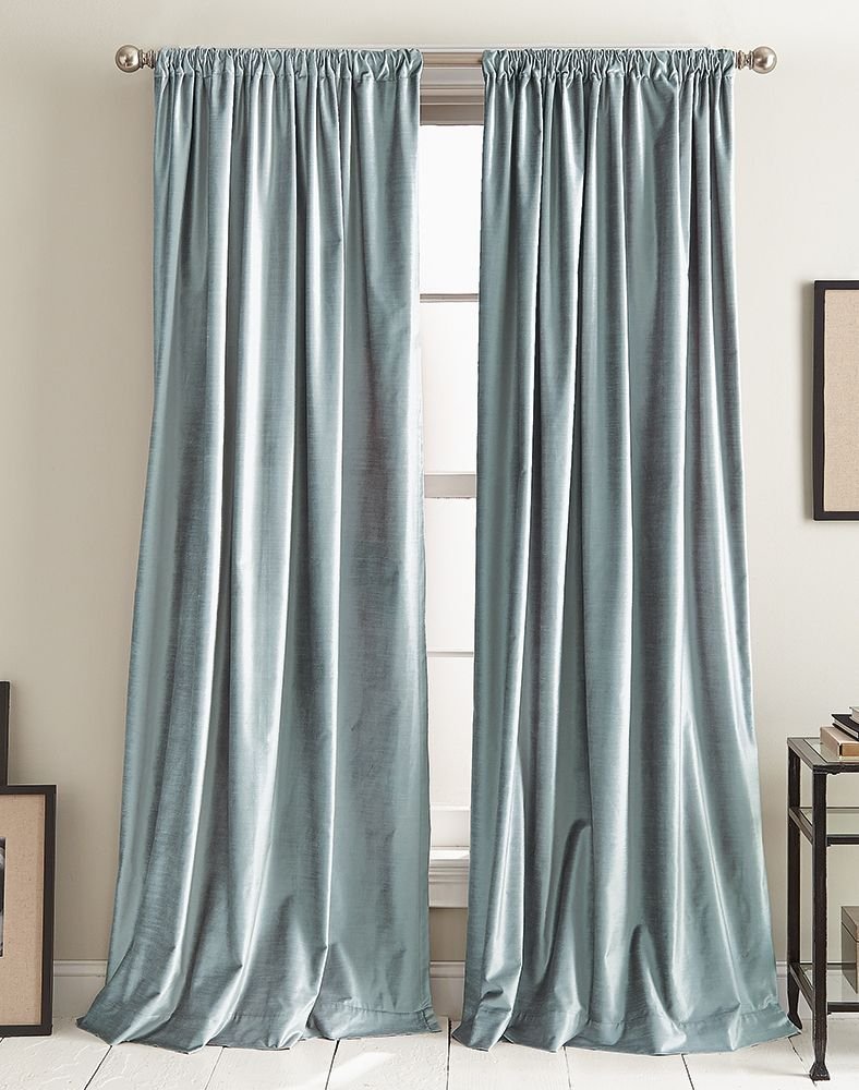 Dkny Modern Knotted Velvet Lined Curtain Panel Pair Throughout Knotted Tab Top Window Curtain Panel Pairs (View 10 of 20)