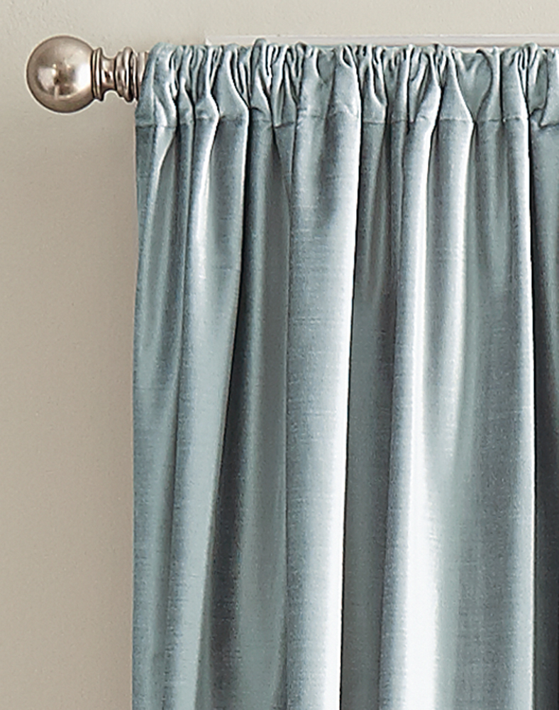 Dkny Modern Knotted Velvet Lined Curtain Panel Pair Within Knotted Tab Top Window Curtain Panel Pairs (View 19 of 20)