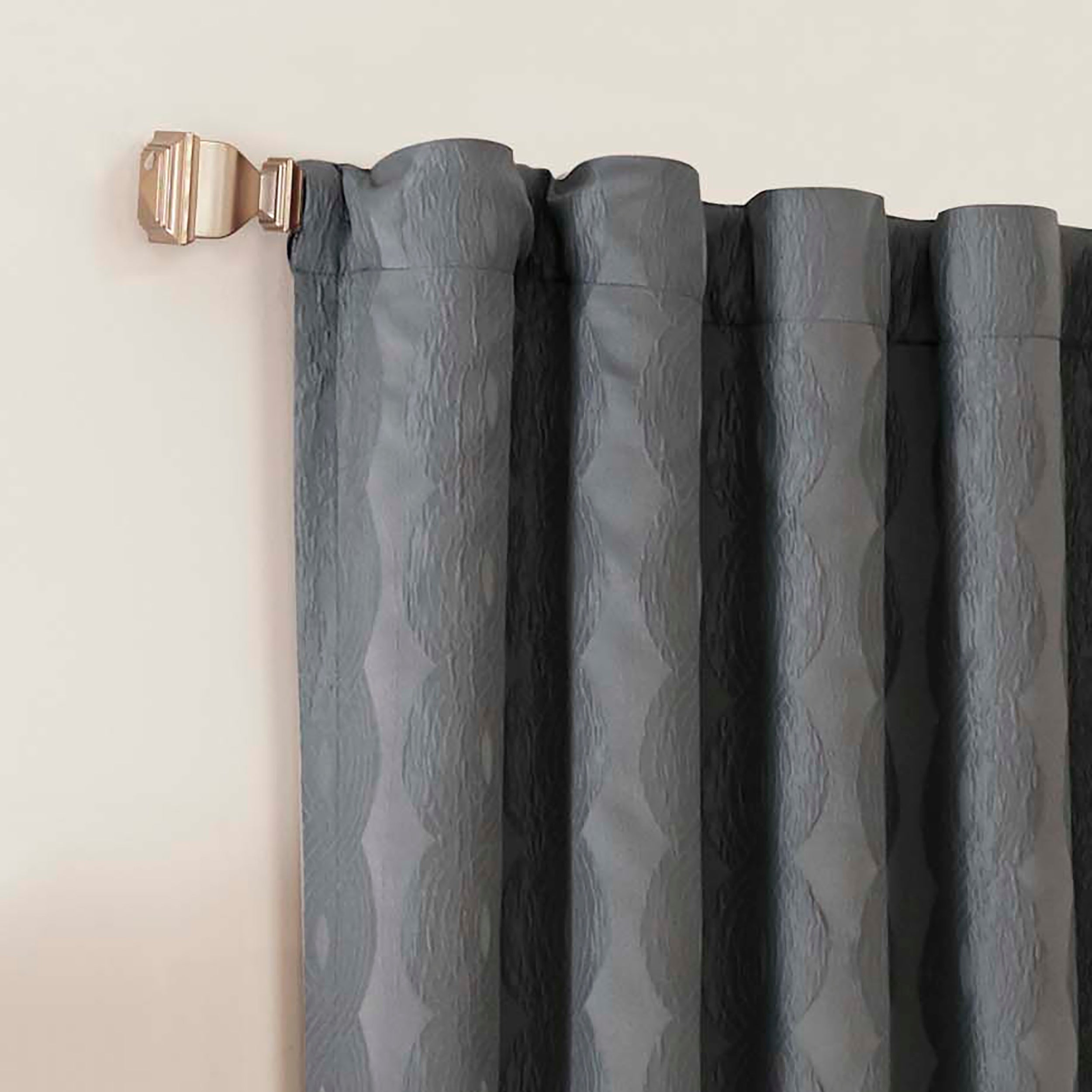 Eclipse Adalyn Thermalayer Blackout Single Curtain Panel Pertaining To Gracewood Hollow Tucakovic Energy Efficient Fabric Blackout Curtains (View 11 of 20)