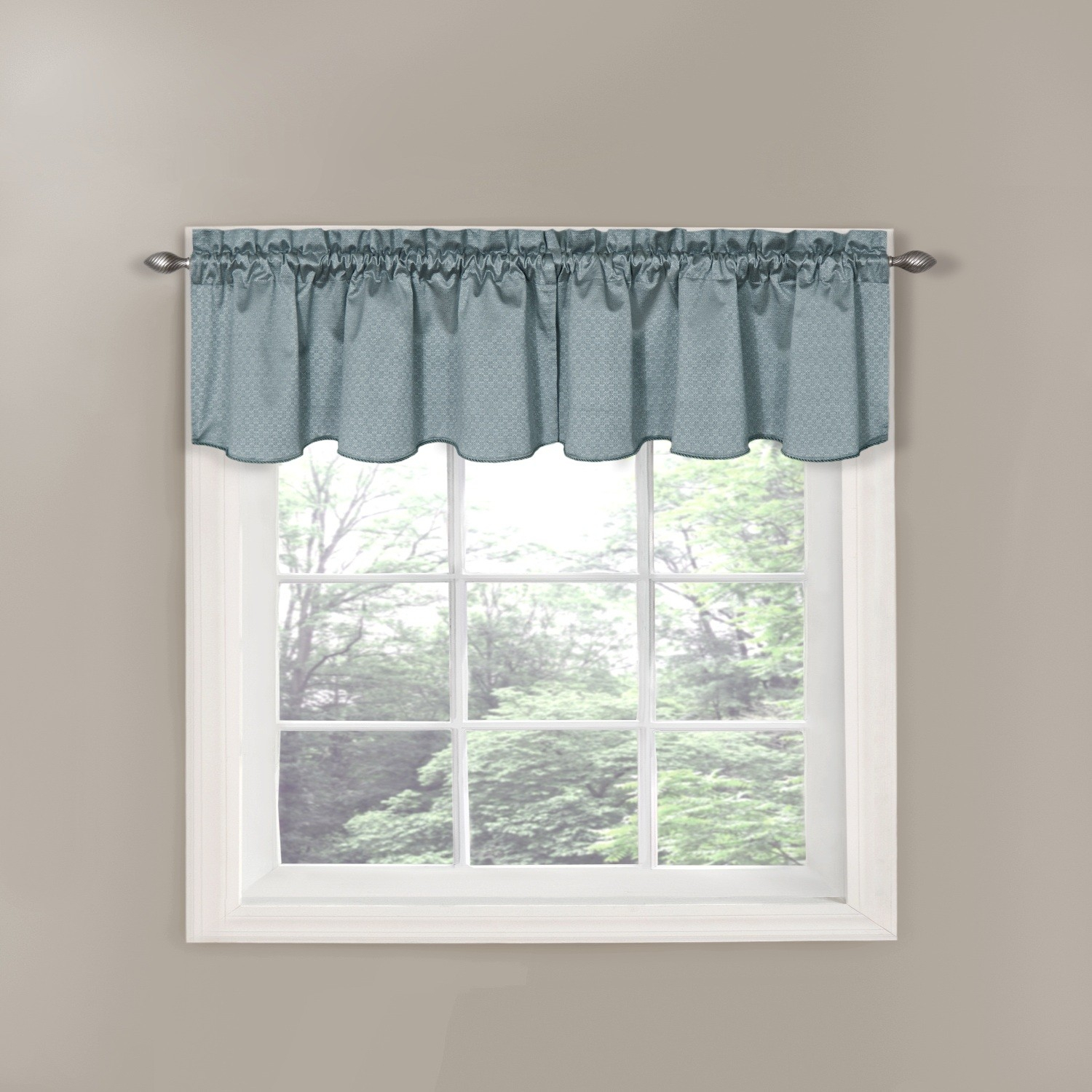 Eclipse Canova Thermaback Blackout Window Valance Pertaining To Thermaback Blackout Window Curtains (View 19 of 30)