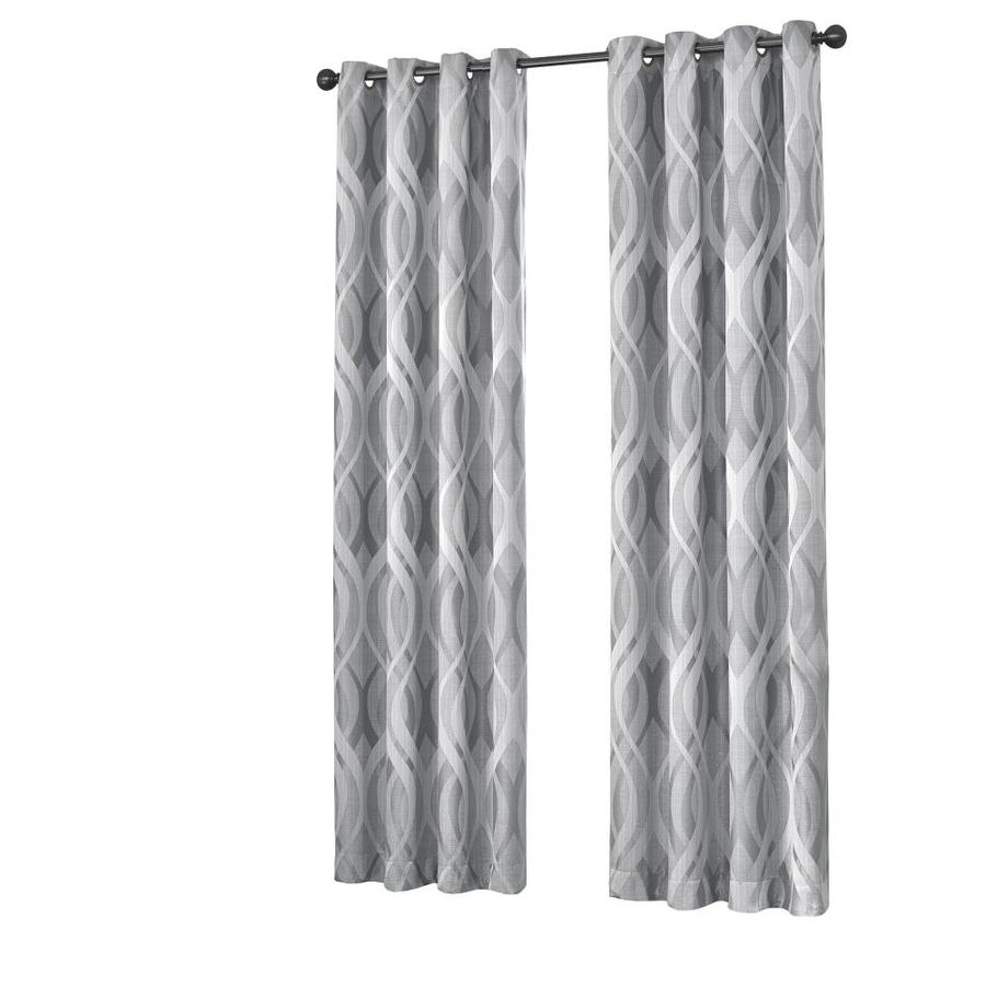 Eclipse Caprese 84 In Silver Polyester Rod Pocket Blackout With Eclipse Caprese Thermalayer Blackout Window Curtains (View 8 of 20)
