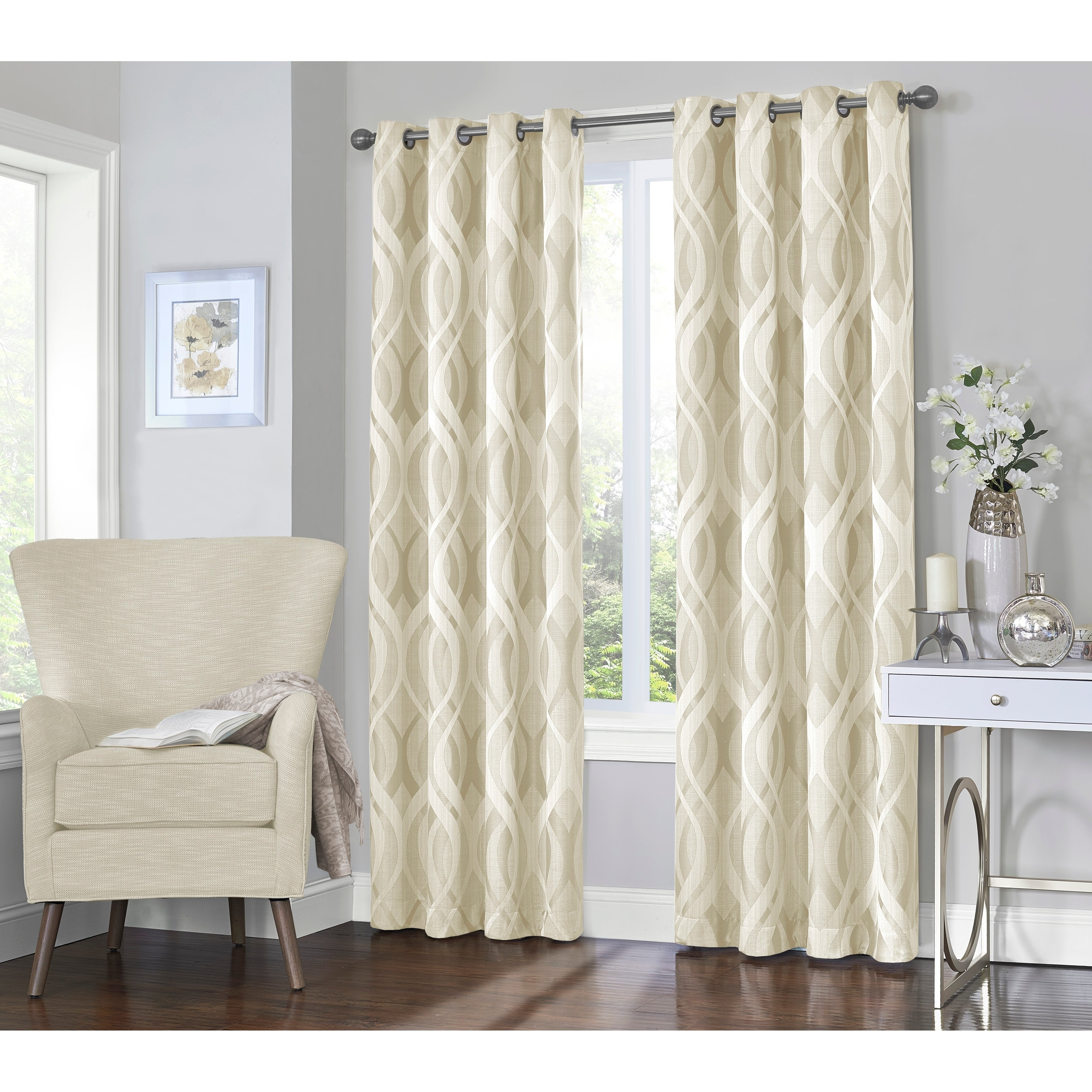 Featured Photo of Eclipse Caprese Thermalayer Blackout Window Curtains