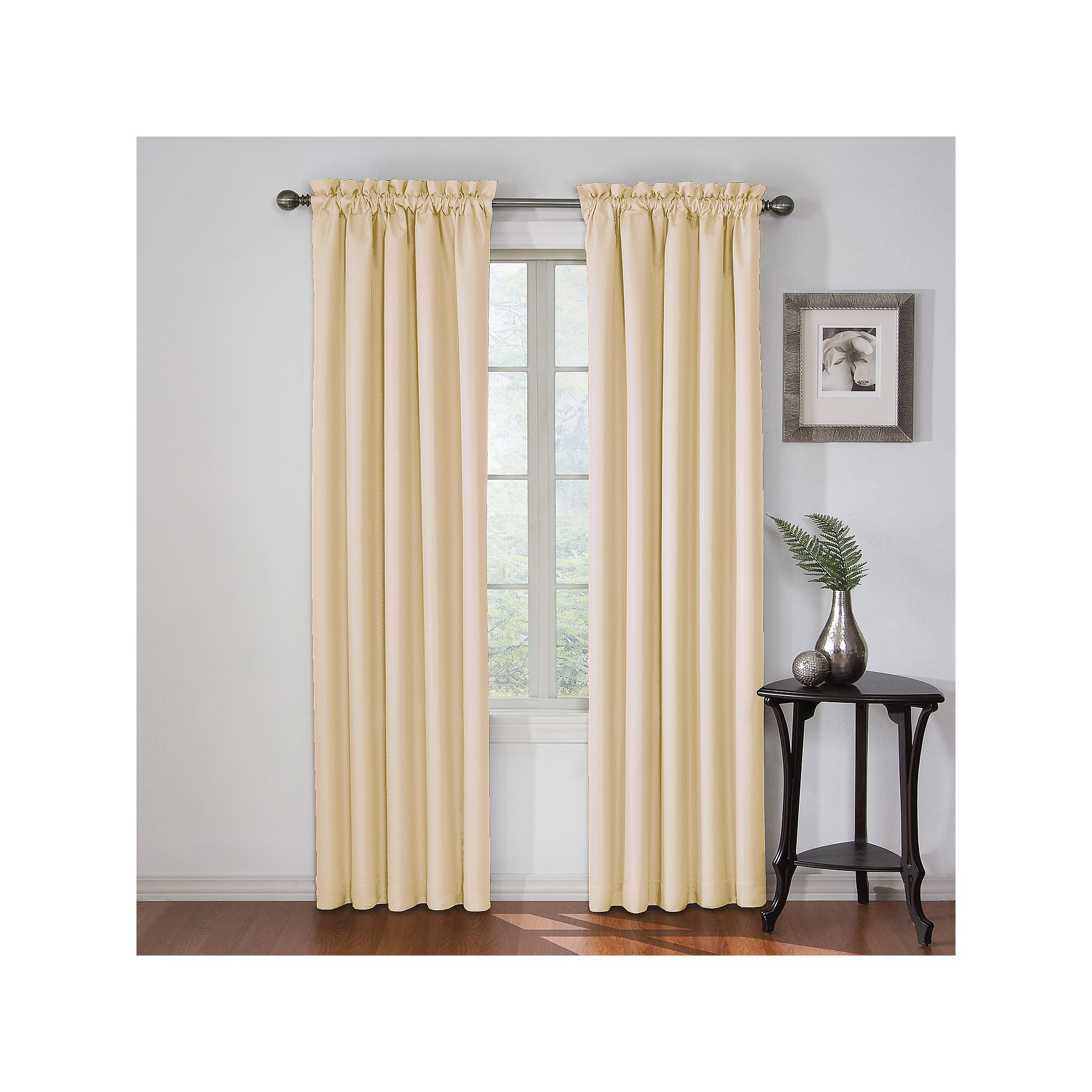 Eclipse Corinne Blackout Window Curtain | Products | Panel Within Eclipse Corinne Thermaback Curtain Panels (View 8 of 20)