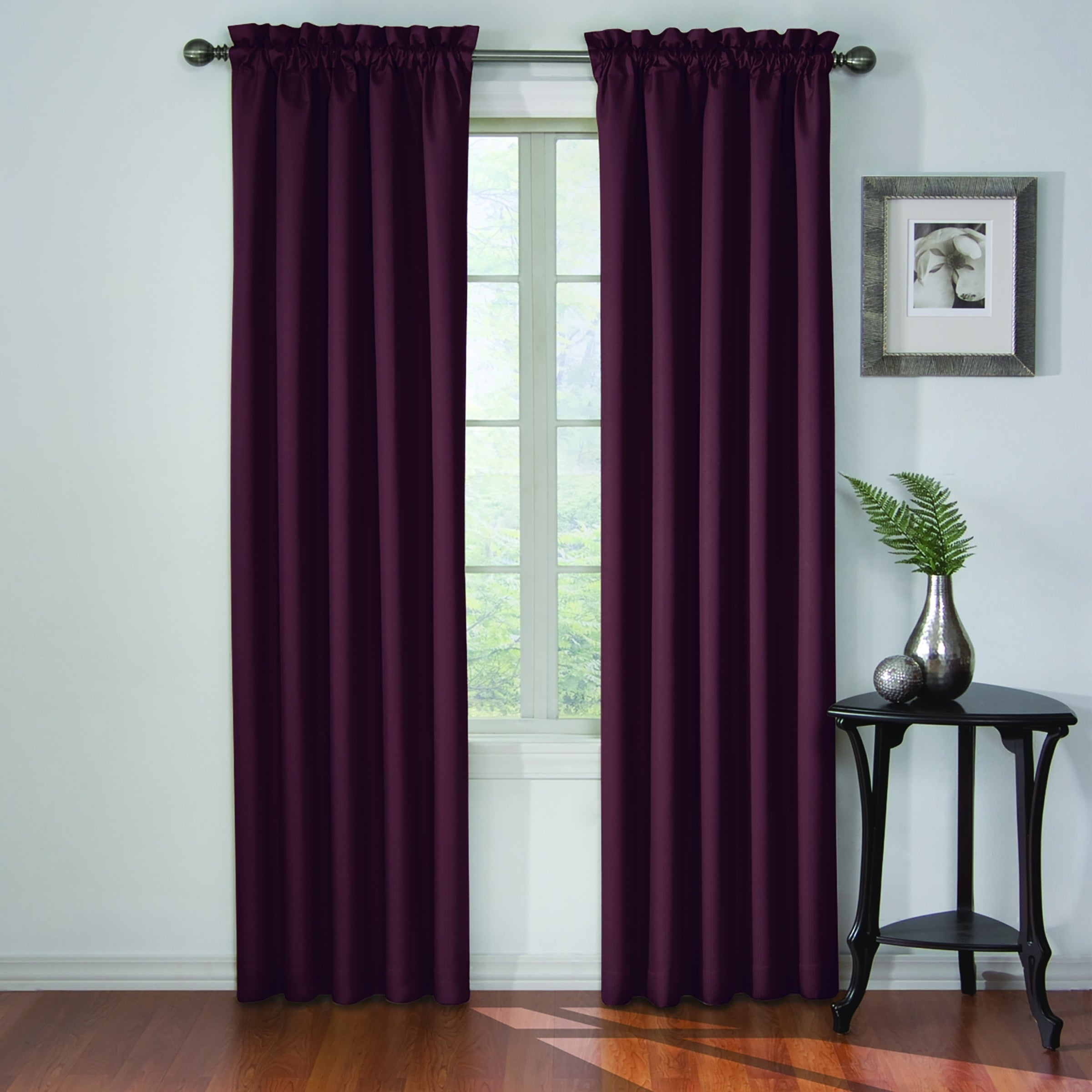Eclipse Corinne Thermaback Curtain Panel Pertaining To Eclipse Corinne Thermaback Curtain Panels (View 2 of 20)
