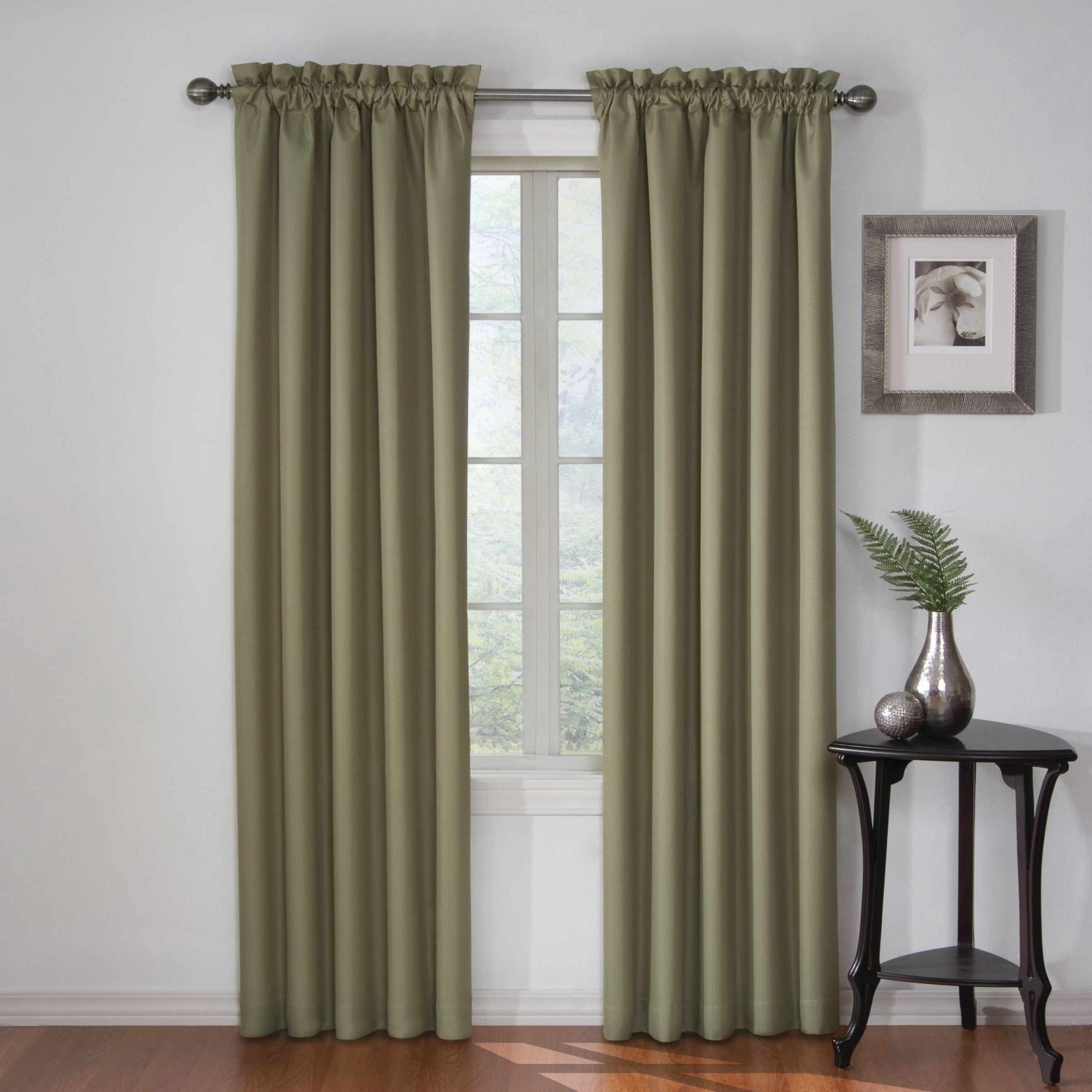 Eclipse Corinne Thermaback Curtain Panel With Regard To Eclipse Corinne Thermaback Curtain Panels (View 3 of 20)