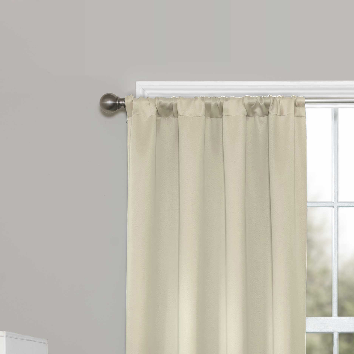 Eclipse Darrell Blackout Window Curtain Panel Regarding Eclipse Darrell Thermaweave Blackout Window Curtain Panels (View 6 of 20)