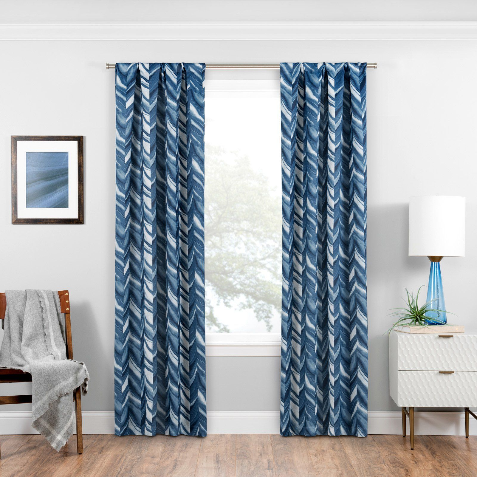 Eclipse Darrell Thermaweave Blackout Window Curtain Panel With Eclipse Darrell Thermaweave Blackout Window Curtain Panels (View 7 of 20)