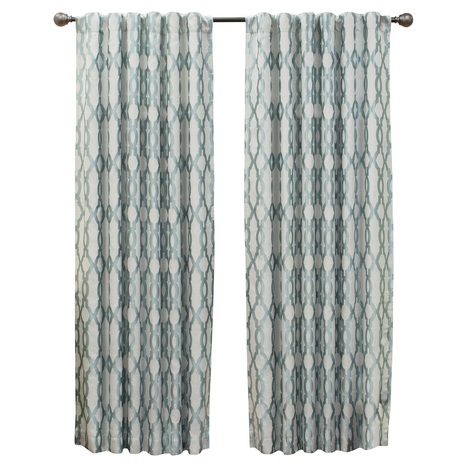 Eclipse Dixon Thermalayer Blackout Curtain Robins Egg Blue For Eclipse Caprese Thermalayer Blackout Window Curtains (View 13 of 20)
