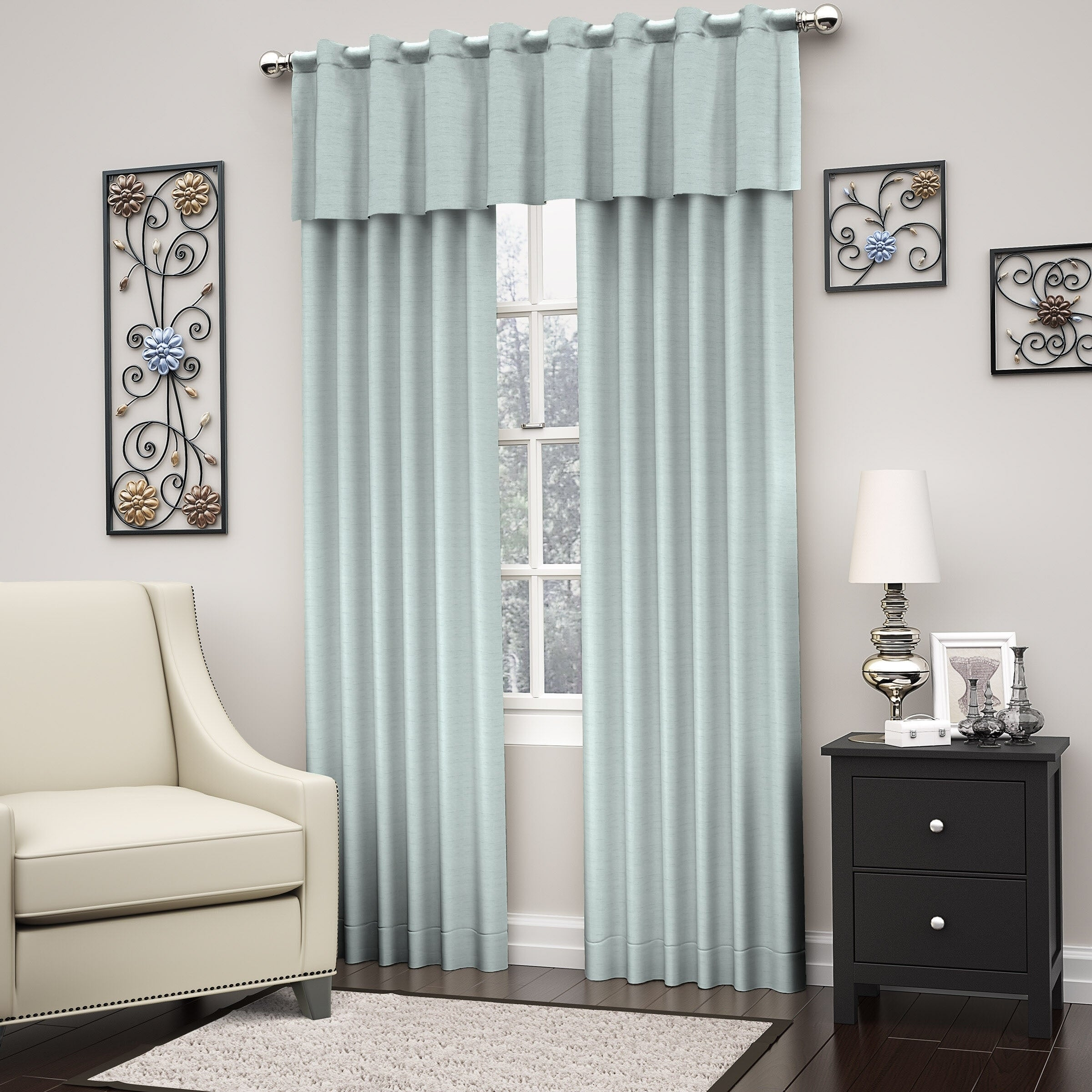 Eclipse Dutton Thermaweave Blackout Window Curtain Panel Throughout Eclipse Corinne Thermaback Curtain Panels (View 14 of 20)