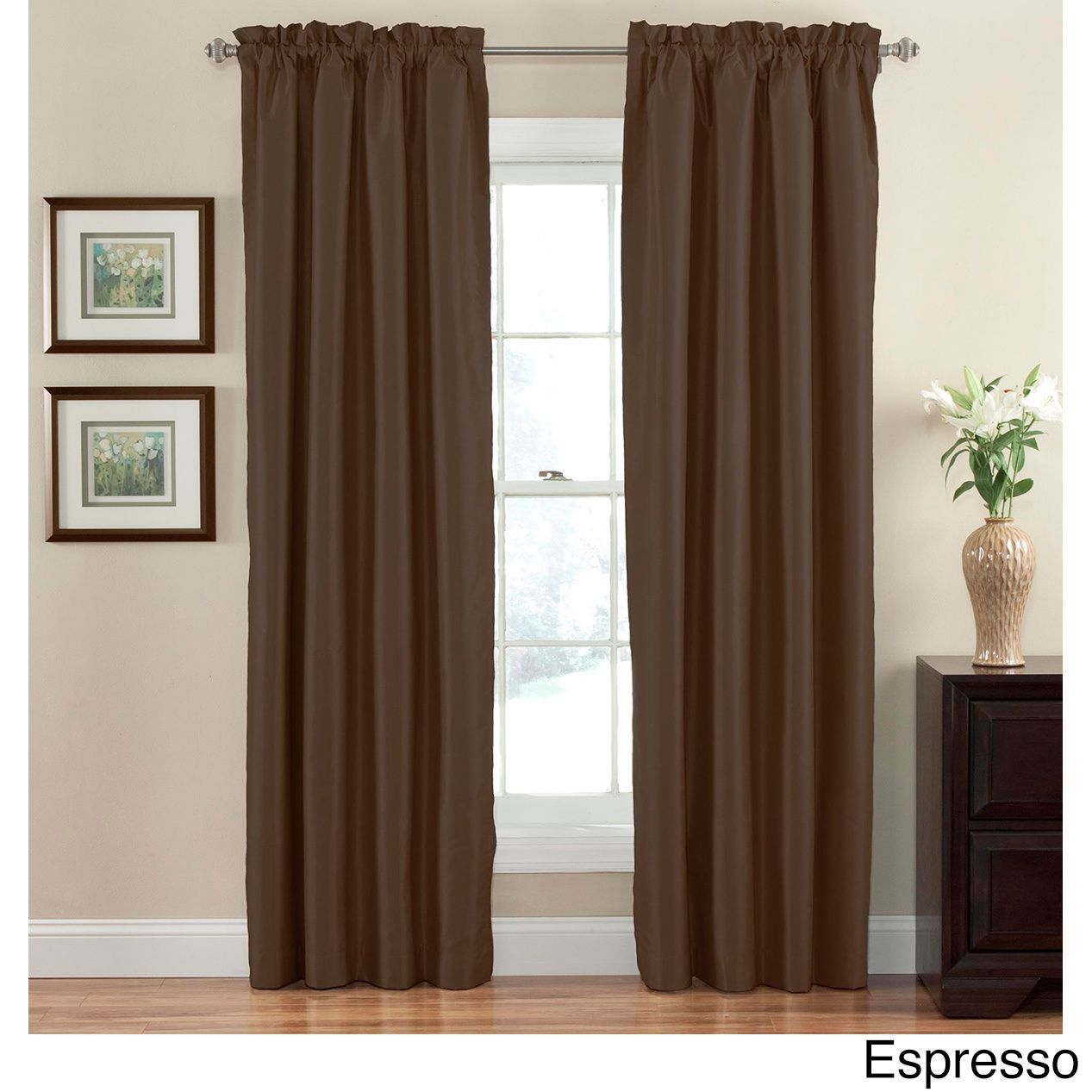 Eclipse Hayden Blackout Curtain Panel | Panel Curtains For Hayden Rod Pocket Blackout Panels (View 13 of 20)