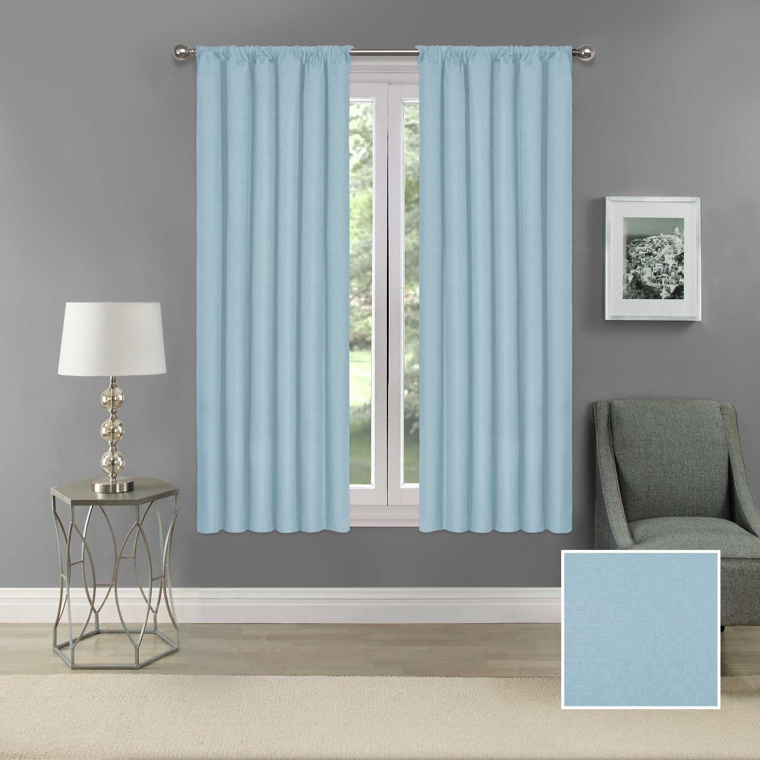 Eclipse Kendall Blackout Window Curtain Panel In Eclipse Kendall Blackout Window Curtain Panels (View 6 of 20)