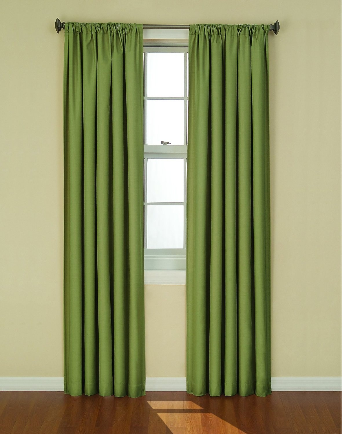 Eclipse Kendall Thermaback Blackout Curtain Panel Pertaining To Thermaback Blackout Window Curtains (View 15 of 30)