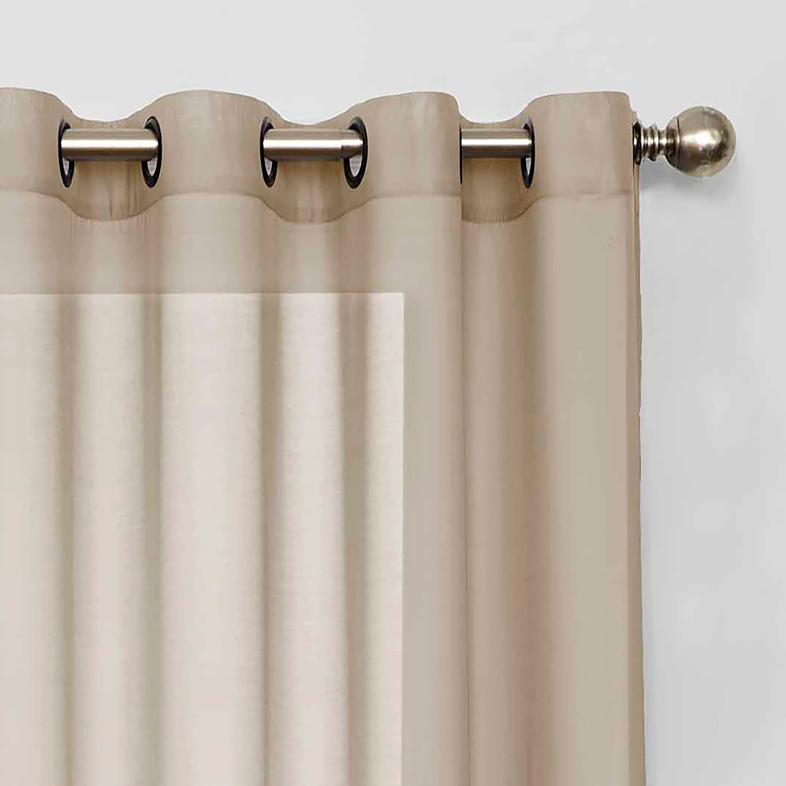 Eclipse Liberty Light Filtering Sheer Single Curtain Panel Within Light Filtering Sheer Single Curtain Panels (View 6 of 20)