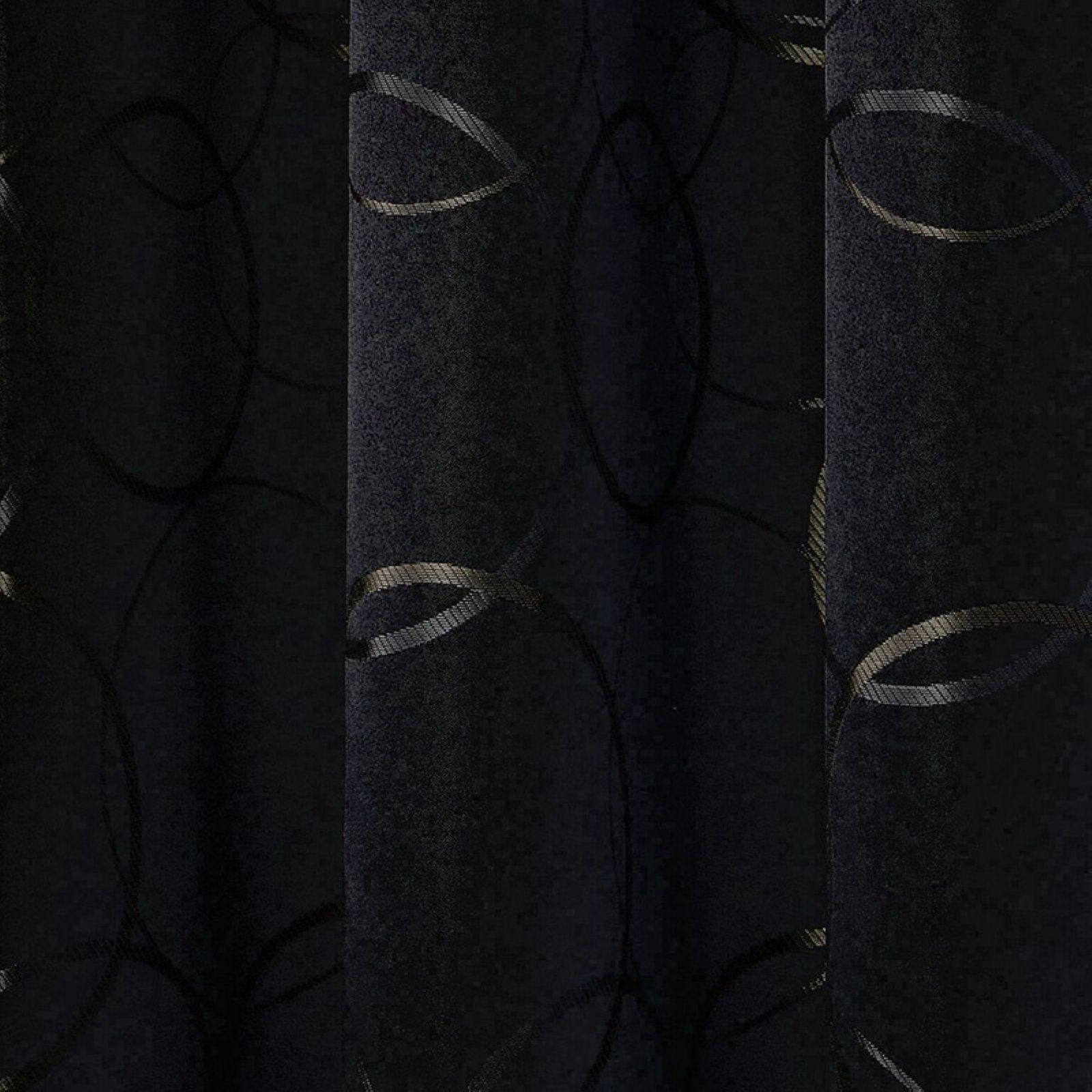 Eclipse Meridian Blackout Window Curtain Panel Regarding Meridian Blackout Window Curtain Panels (View 16 of 20)
