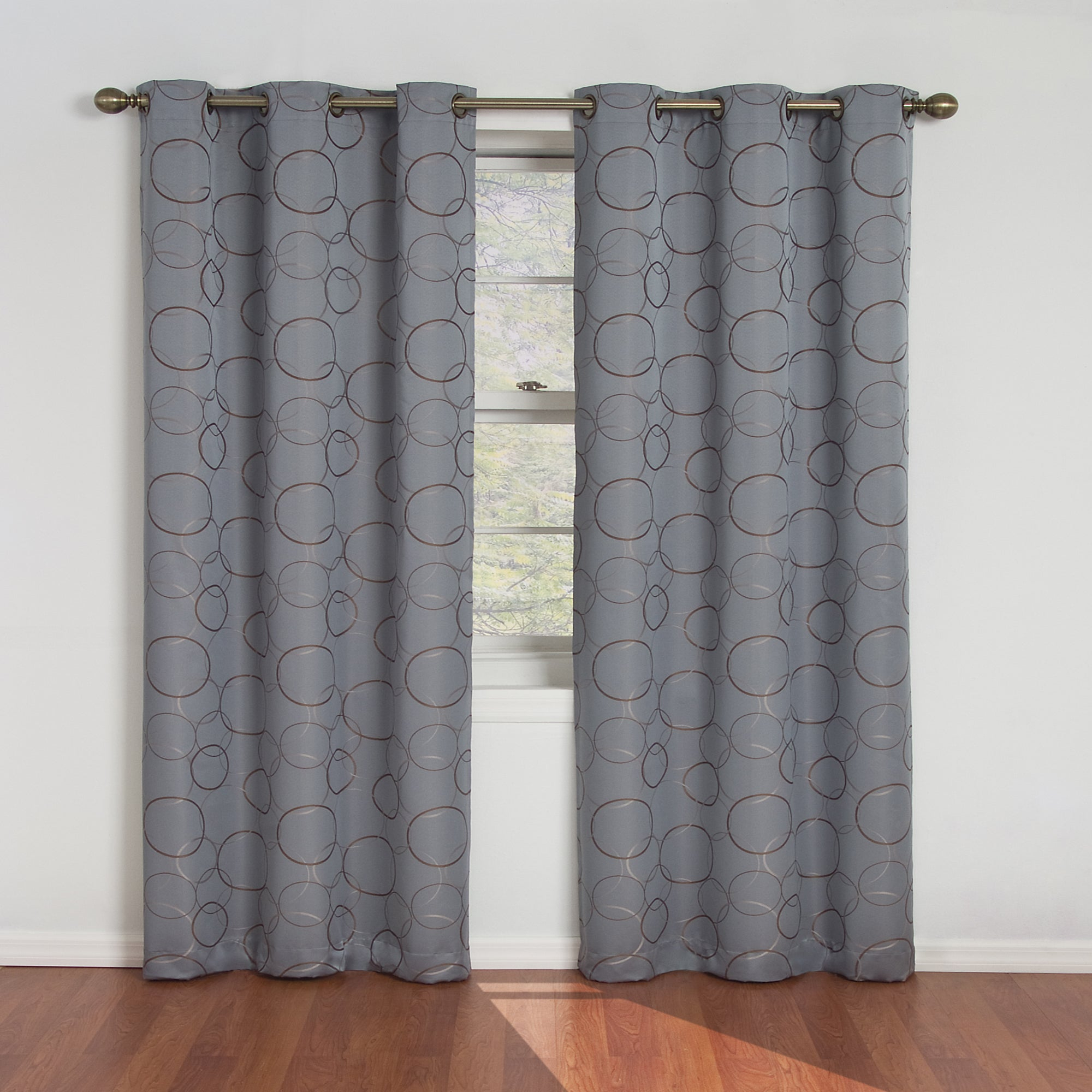 Featured Photo of Meridian Blackout Window Curtain Panels