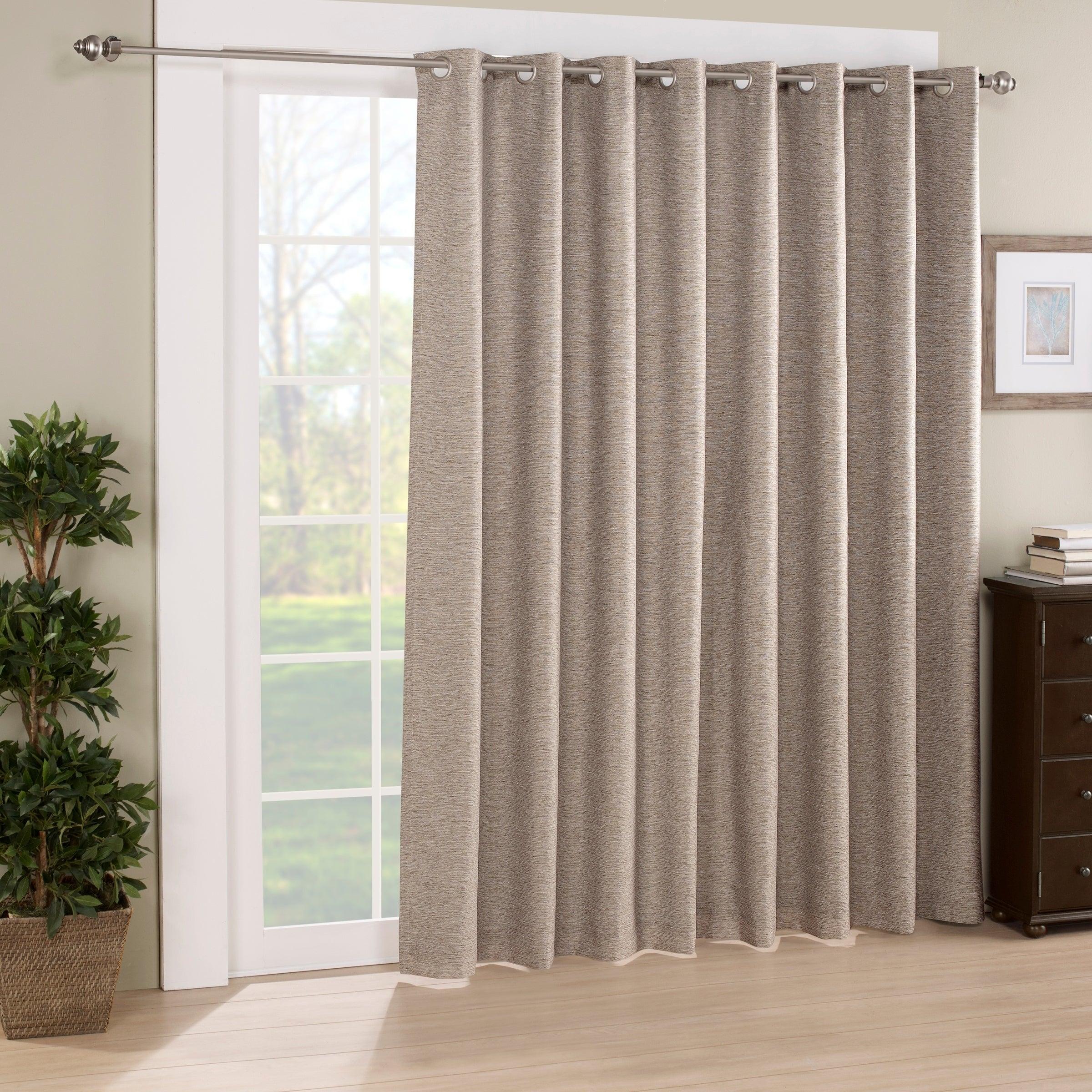 Eclipse Newport Blackout Patio Door Panel – 100x84 Intended For Eclipse Newport Blackout Curtain Panels (View 6 of 20)